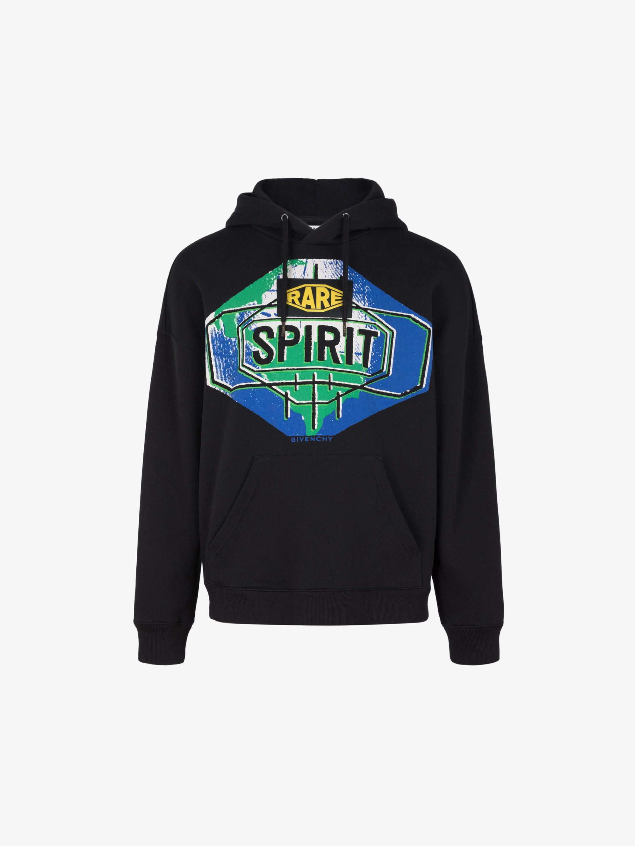 Sweatshirt à capuche imprimé Spirit