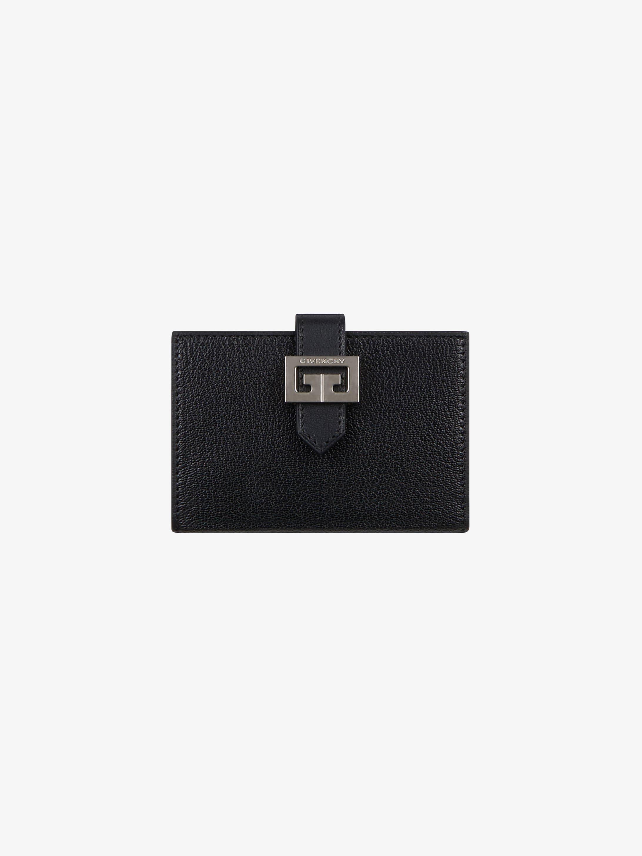 Porte-cartes GV3 en cuir