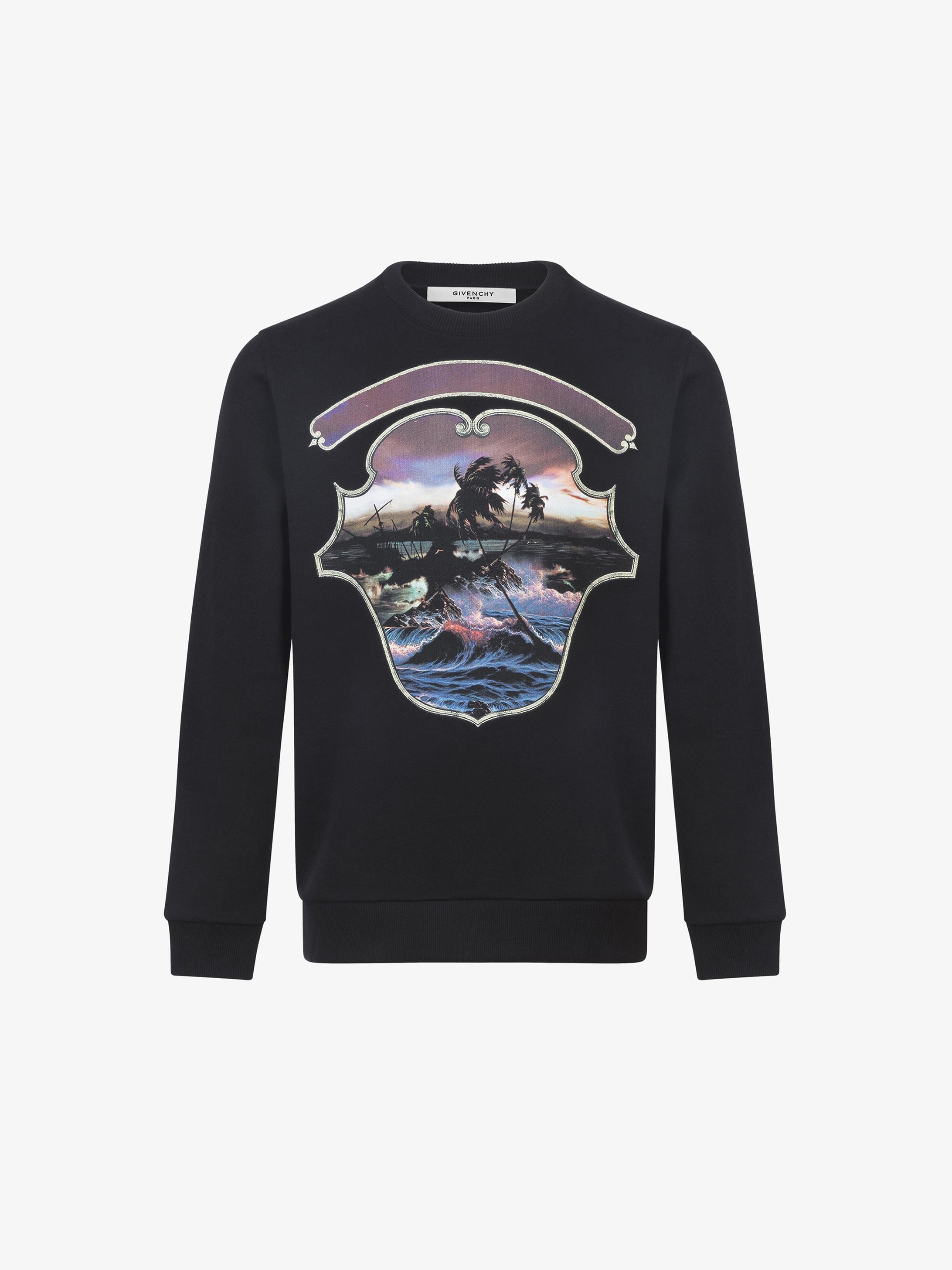 Hawaï printed sweatshirt