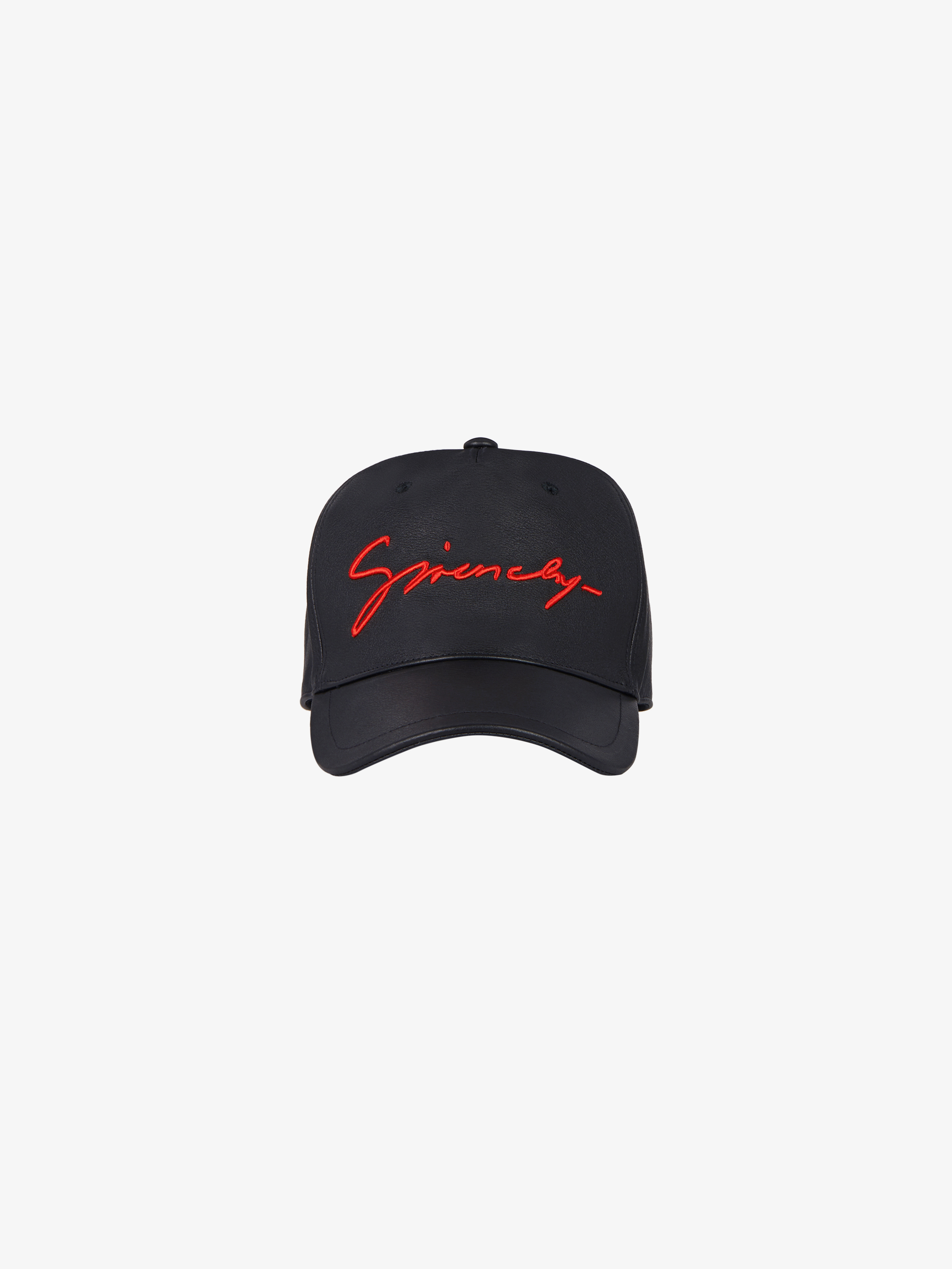 GIVENCHY signature cap in leather