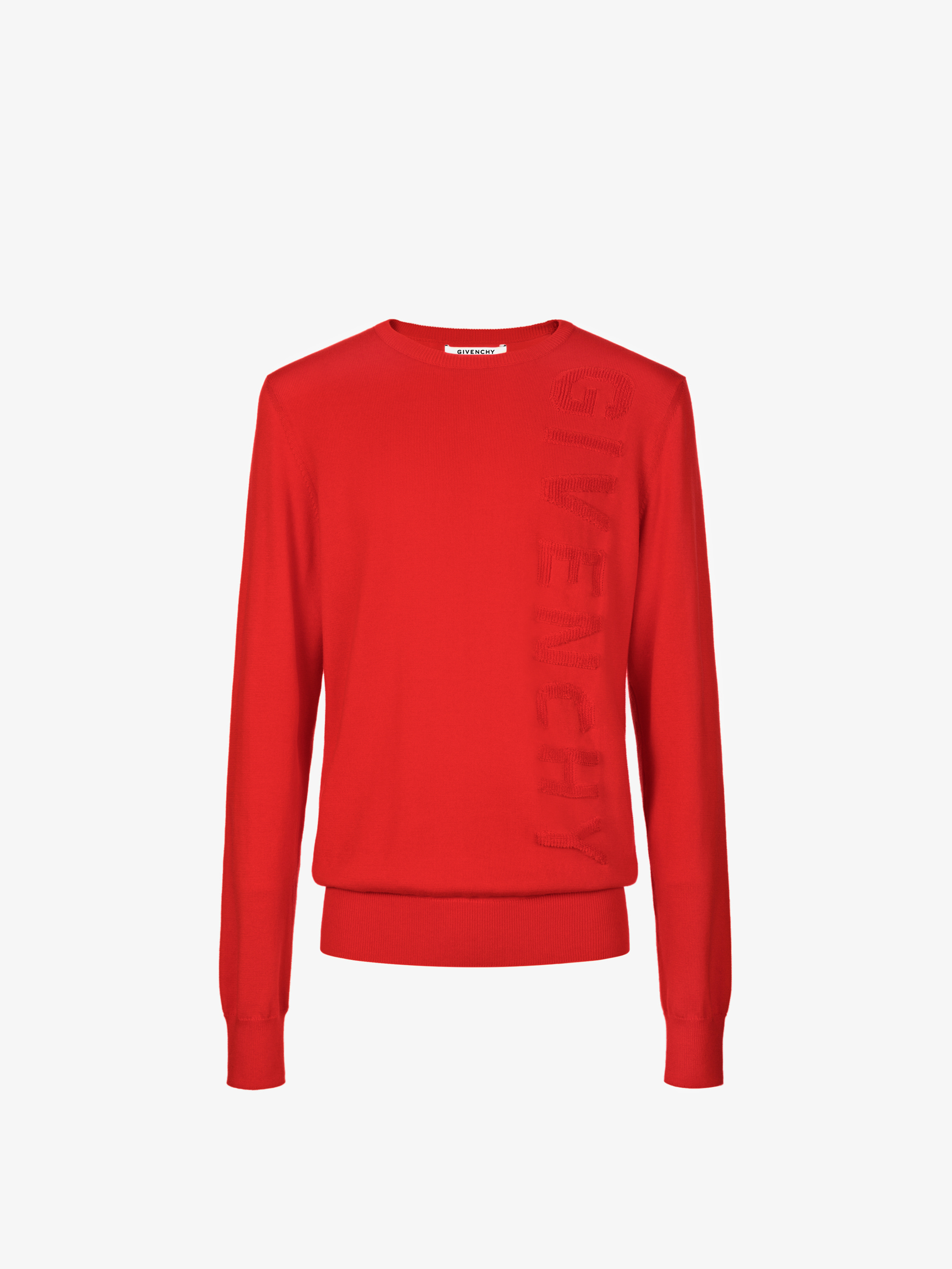 Vertical GIVENCHY signature jumper