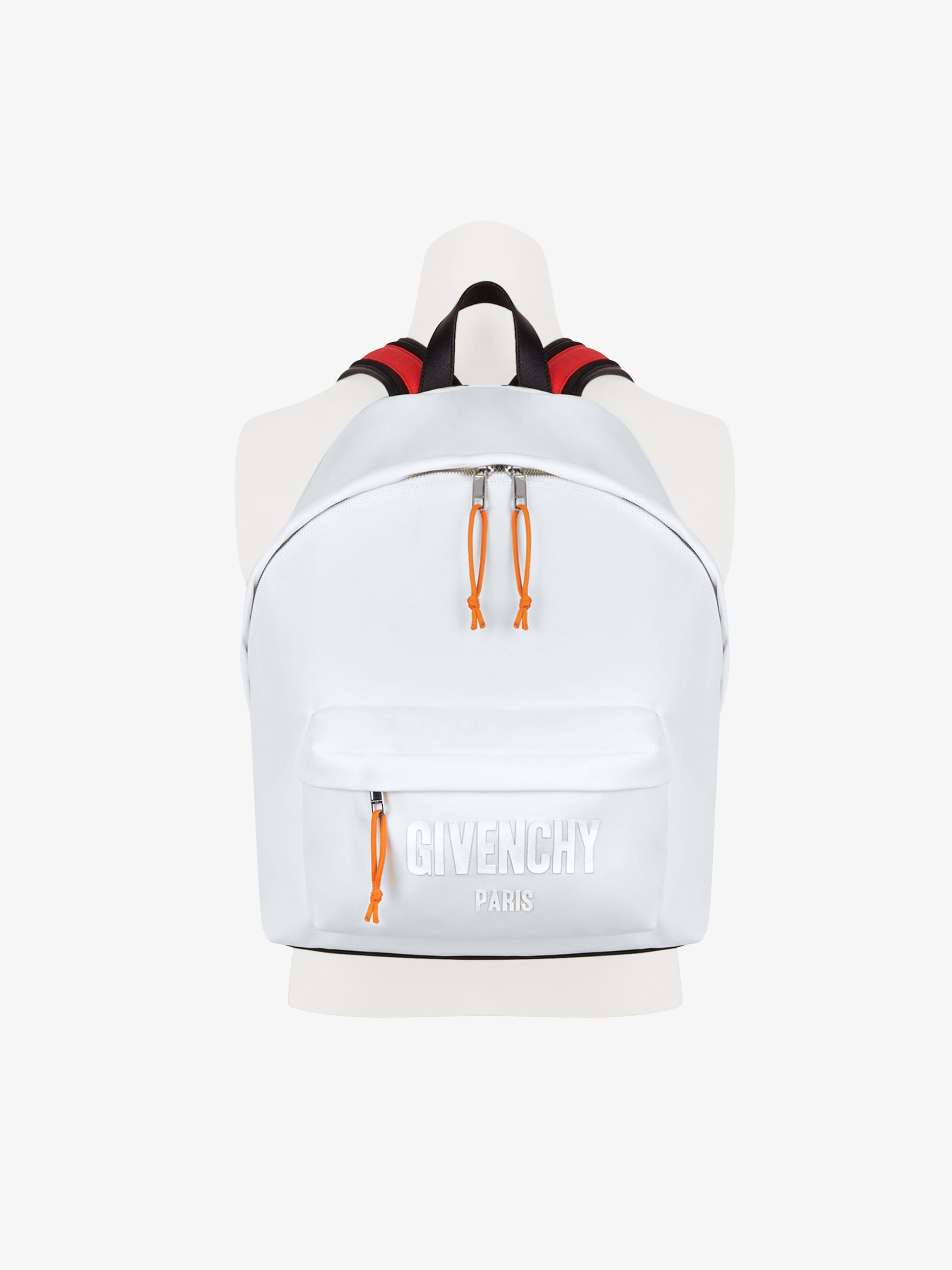 Color straps backpack