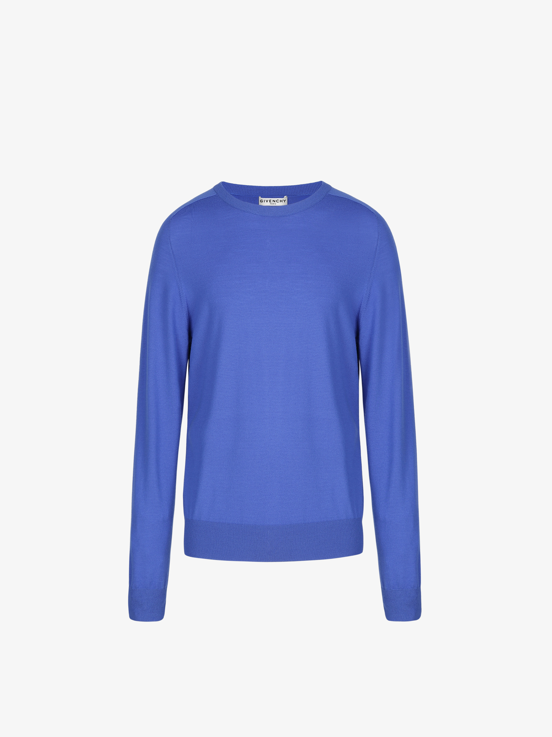 GIVENCHY ADDRESS band sweater in merino