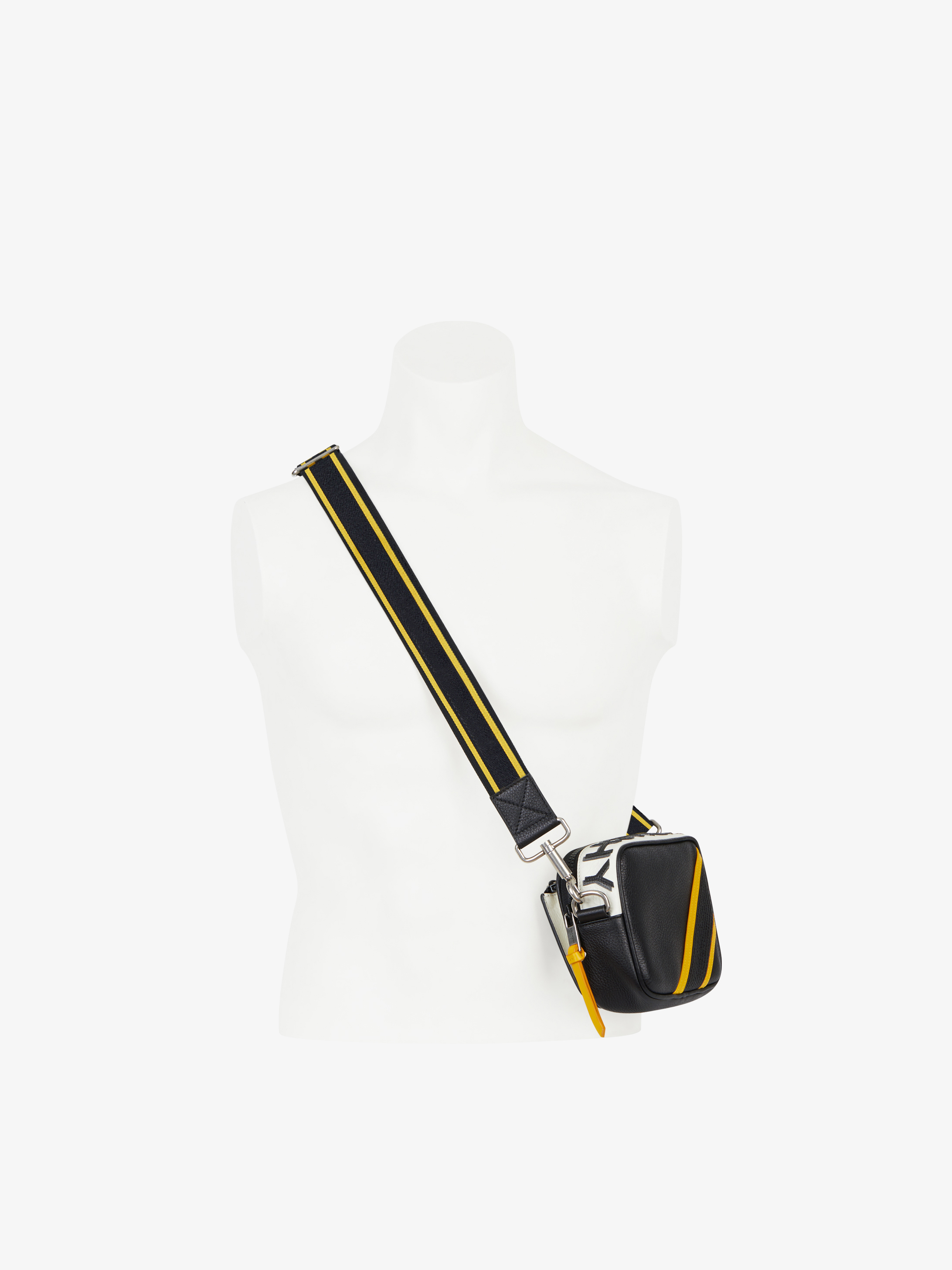 Reverse GIVENCHY cross-body bag in leather
