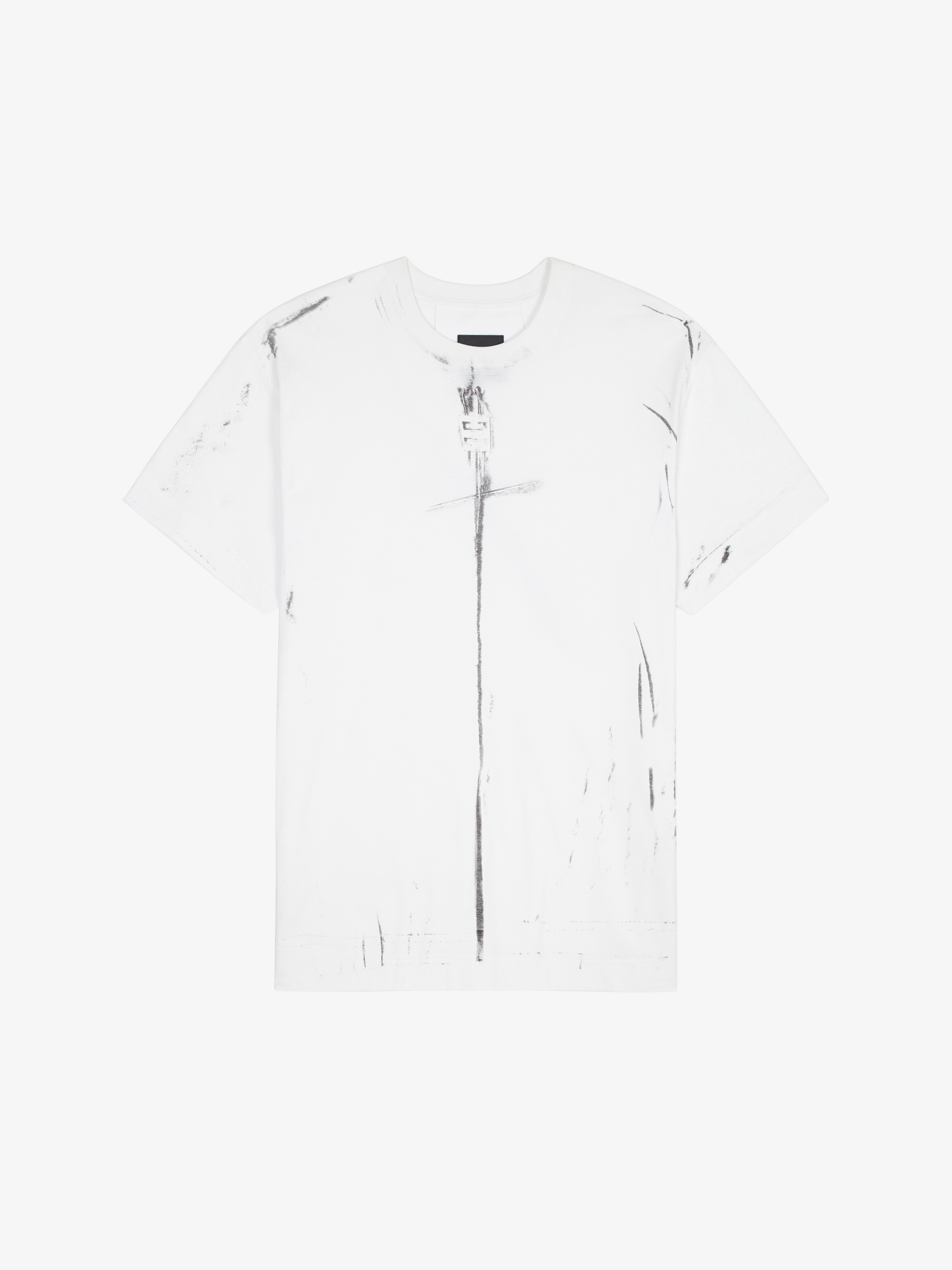 GIVENCHY trompe-l'œil effect oversized t-shirt