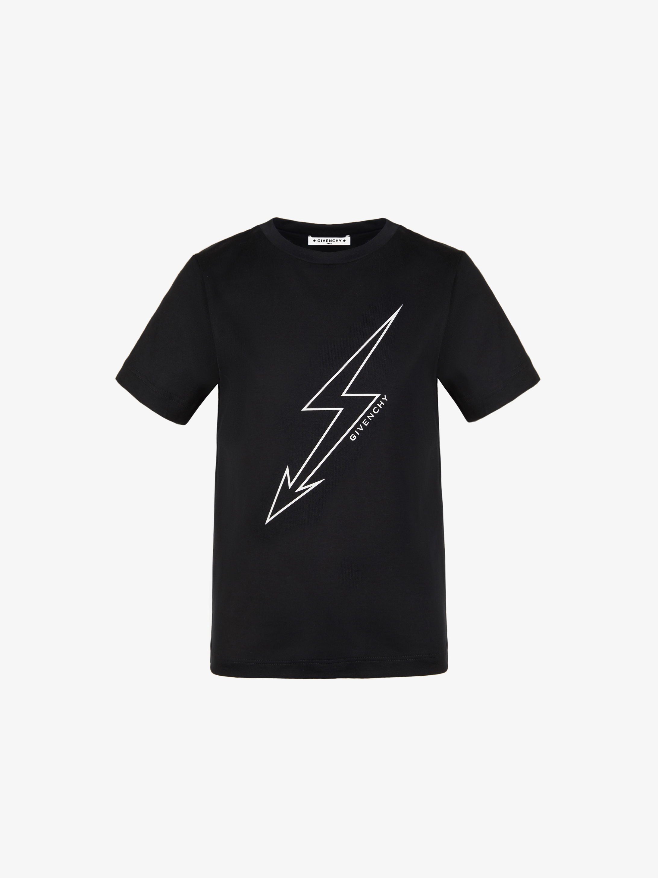 Lightning and GIVENCHY printed T-shirt
