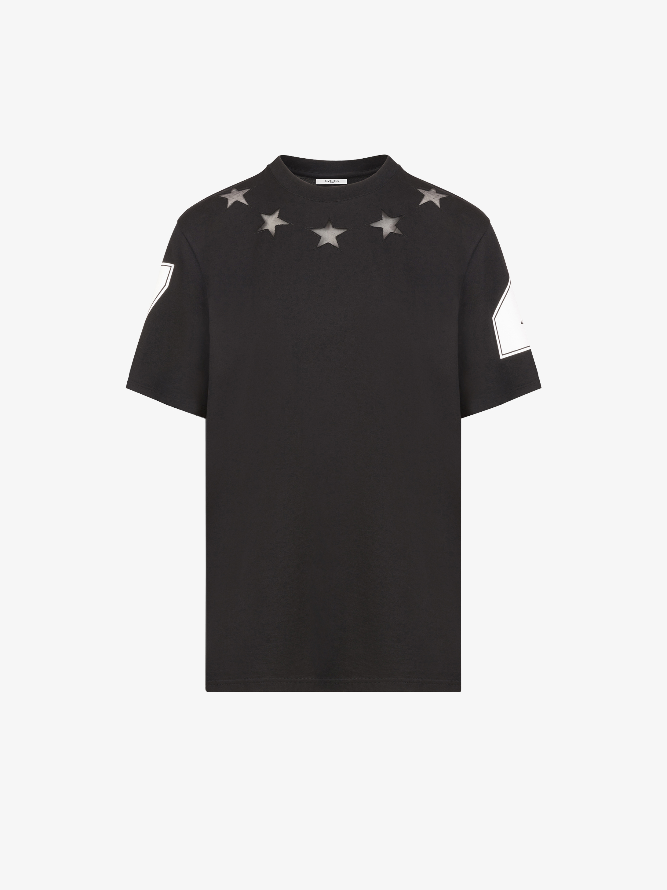 475b04d2589fb9 Givenchy Stars and 74 details T-shirt | GIVENCHY Paris