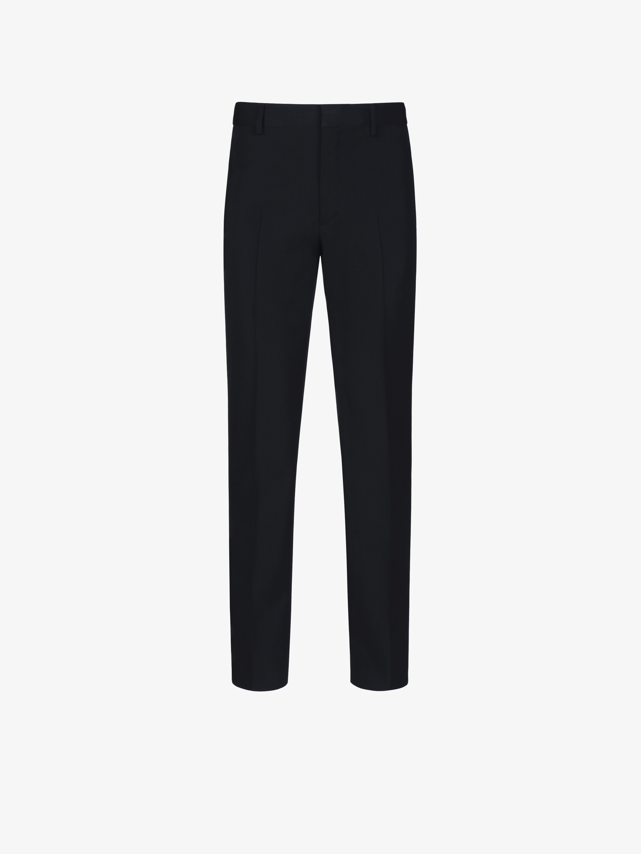 Extraslim fit tuxedo pants in wool