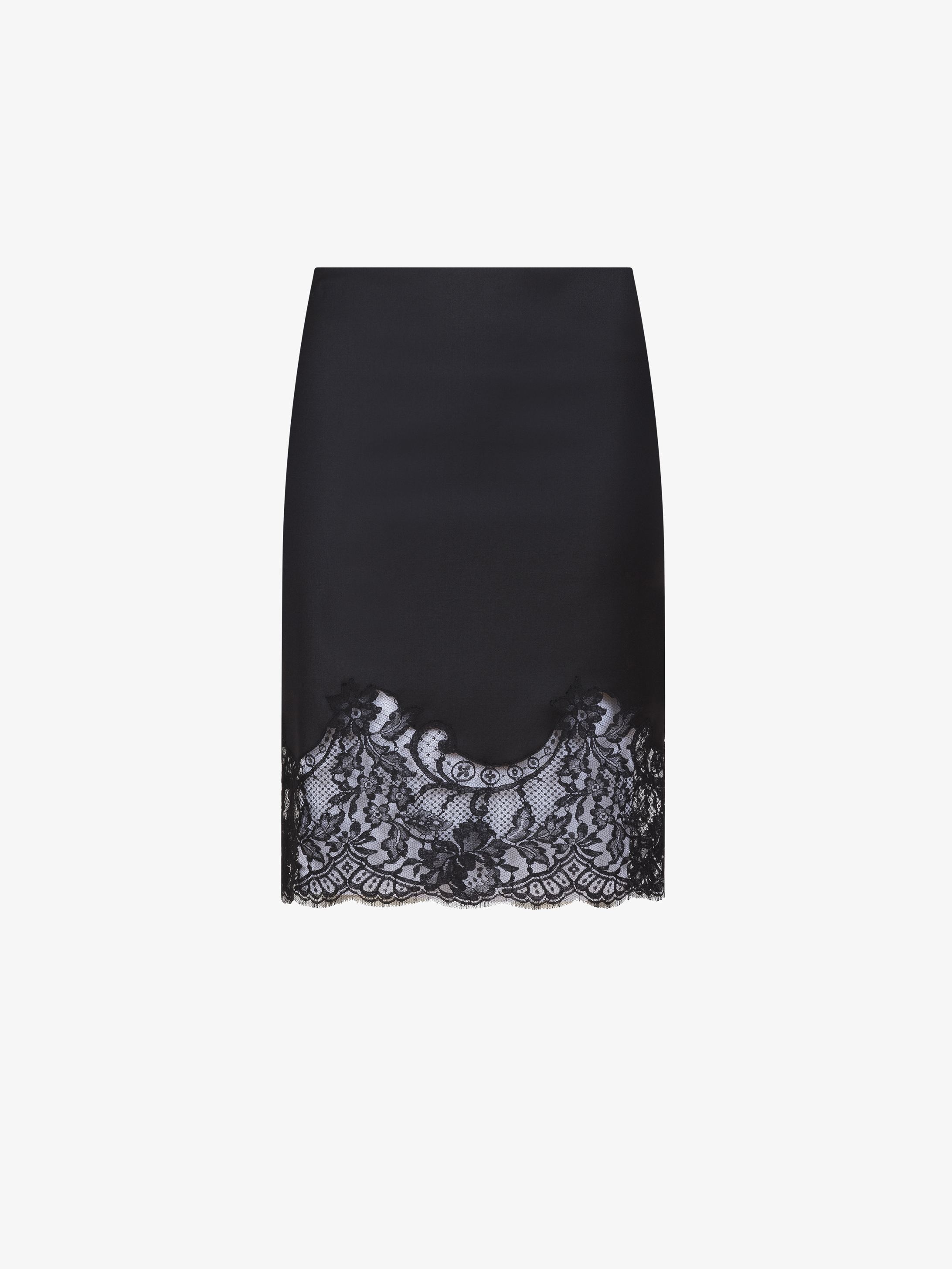 Lace skirt in wool