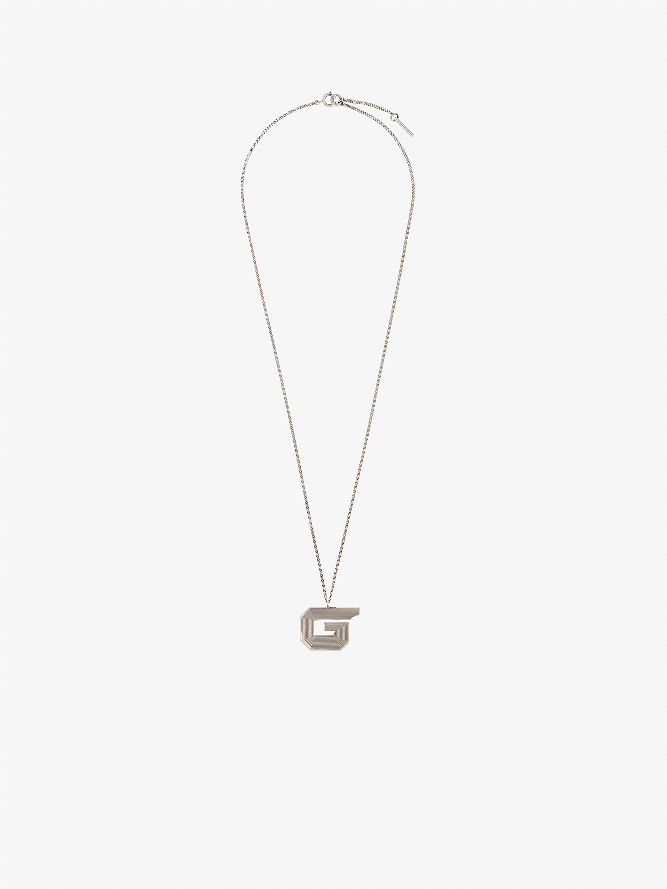 G whistle brass necklace
