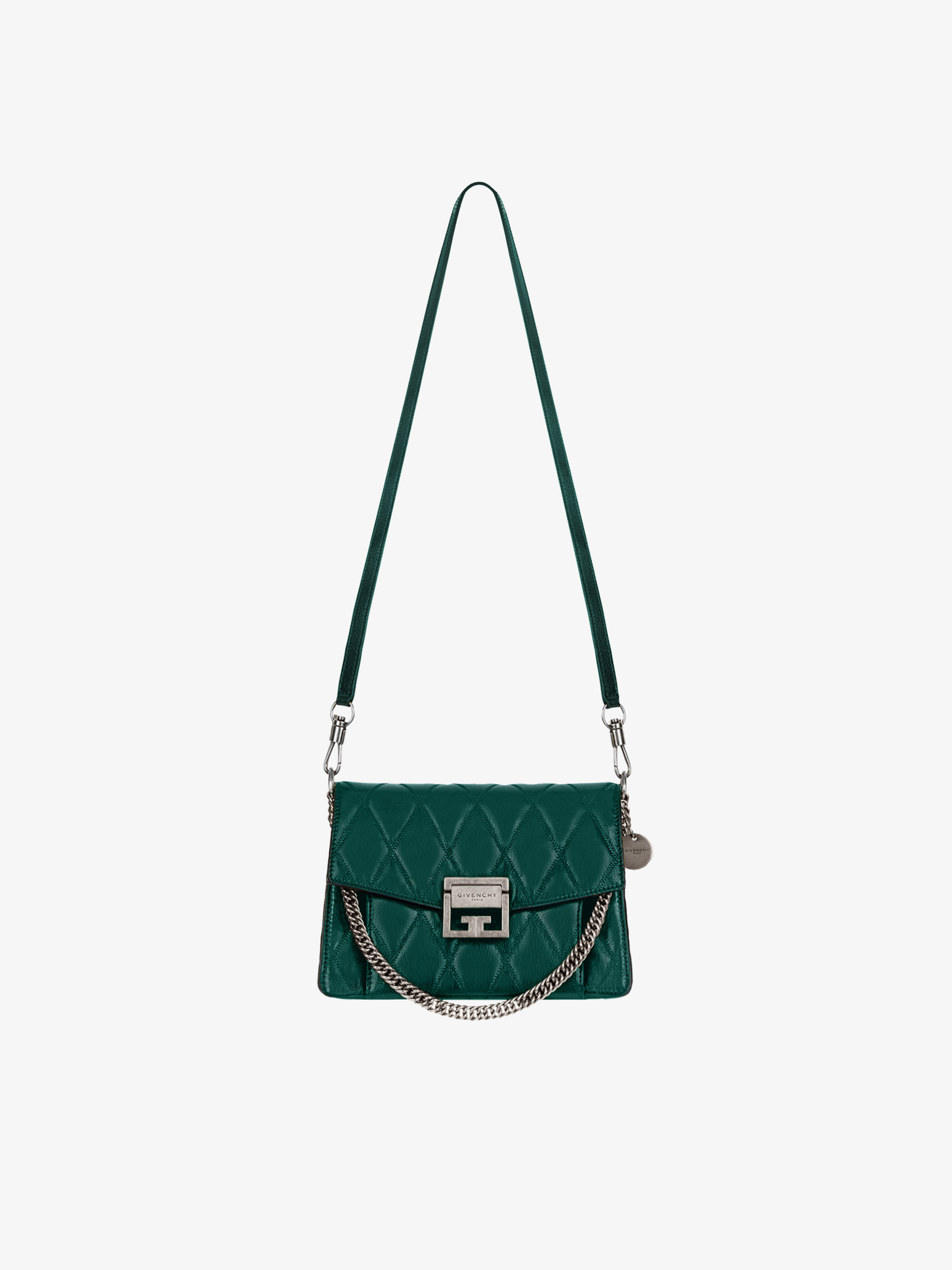 b3f335990d4b Small GV3 bag in diamond quilted leather