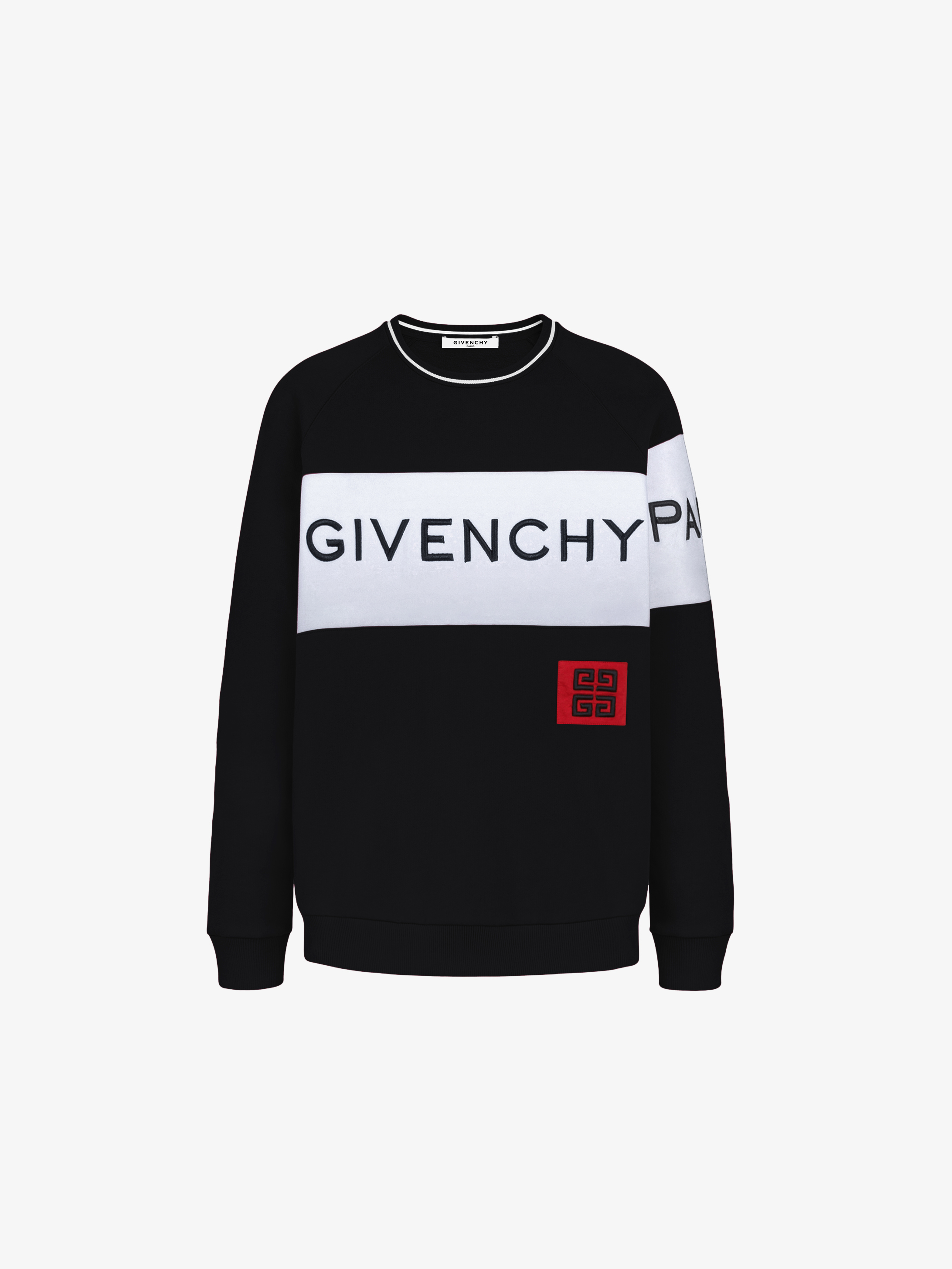 GIVENCHY PARIS 4G embroidered sweatshirt