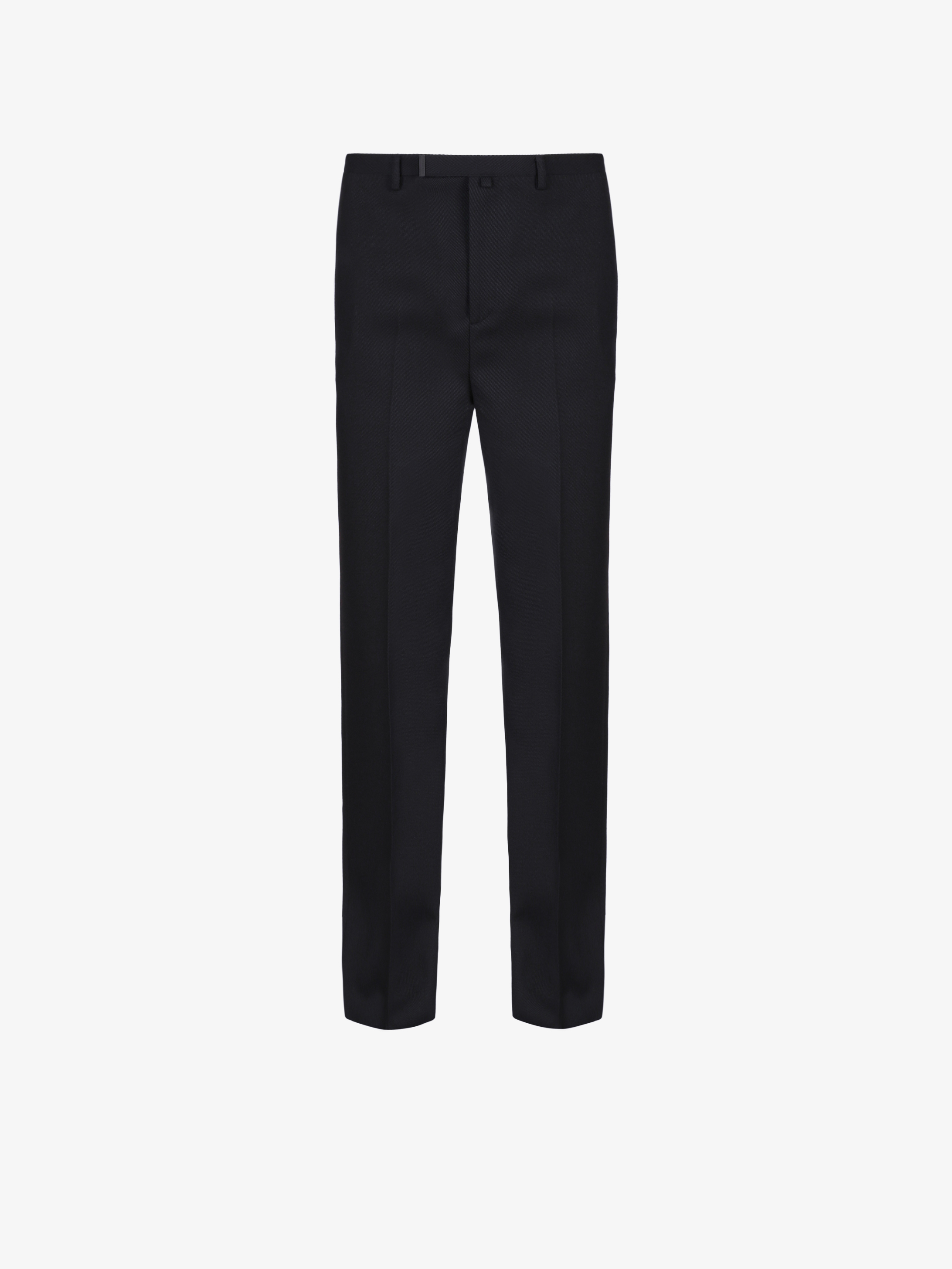 Oversized pants in wool