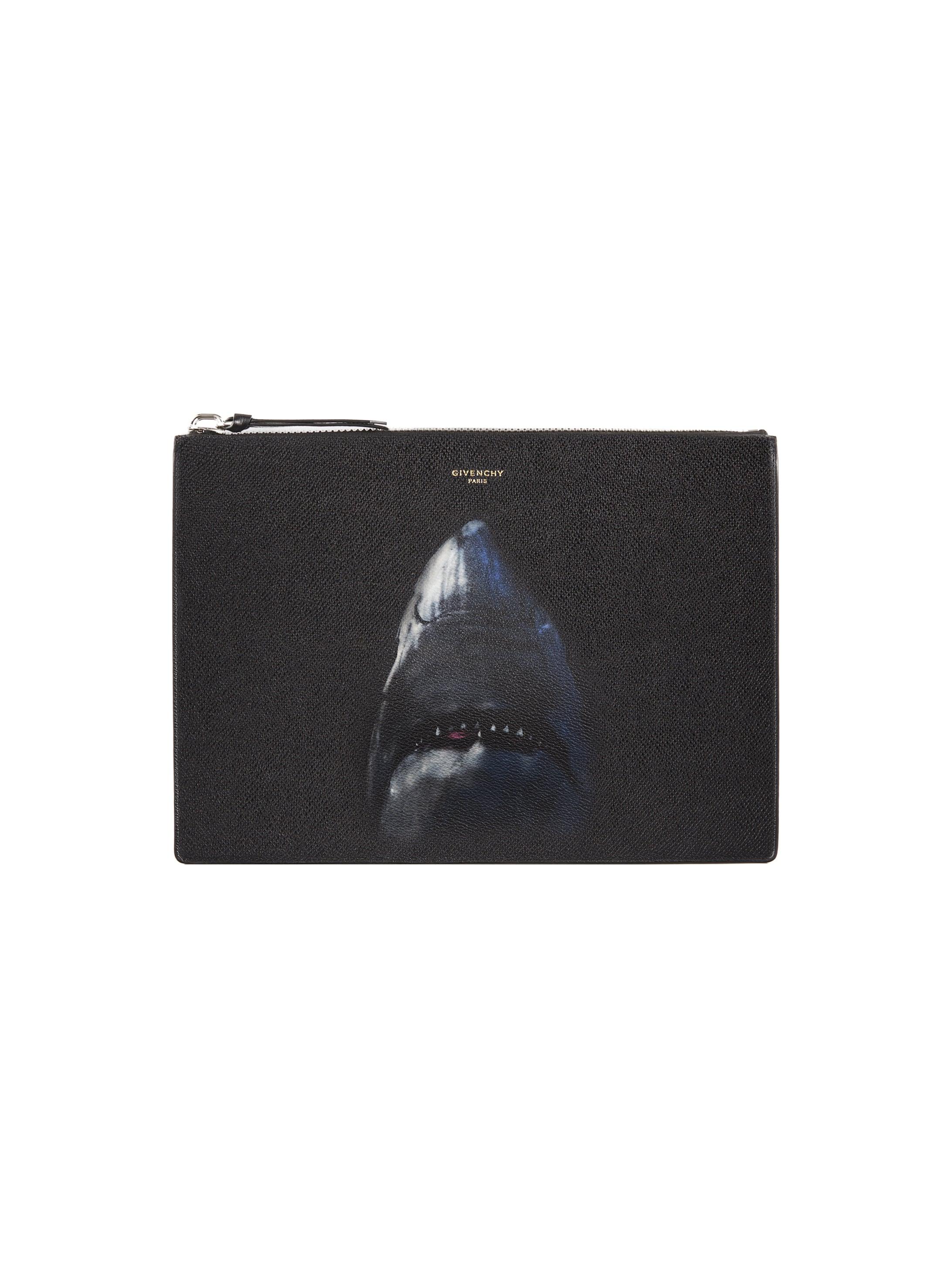 Shark printed document holder