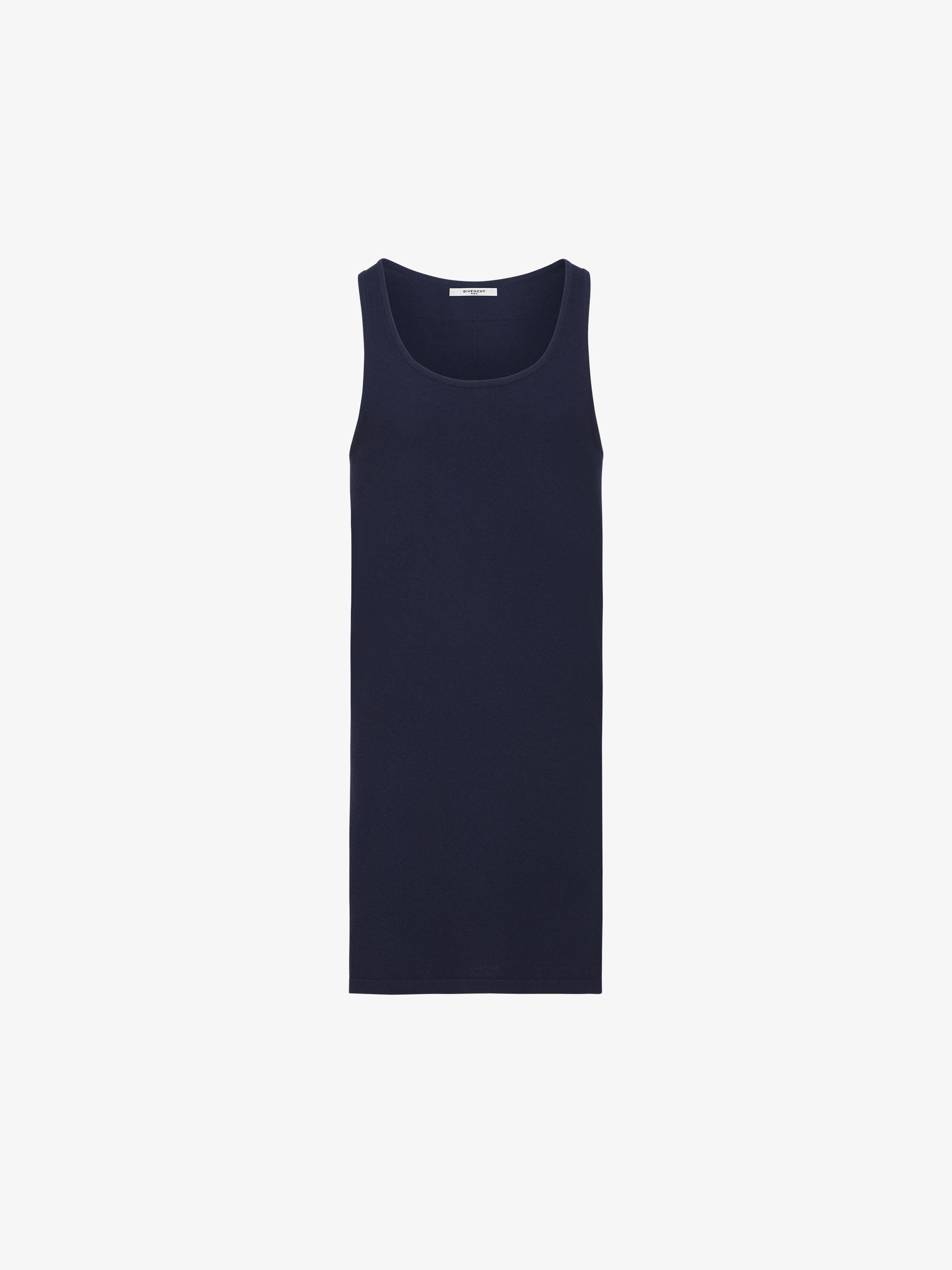 b61d64e8e0396 Givenchy Long tank top in wool