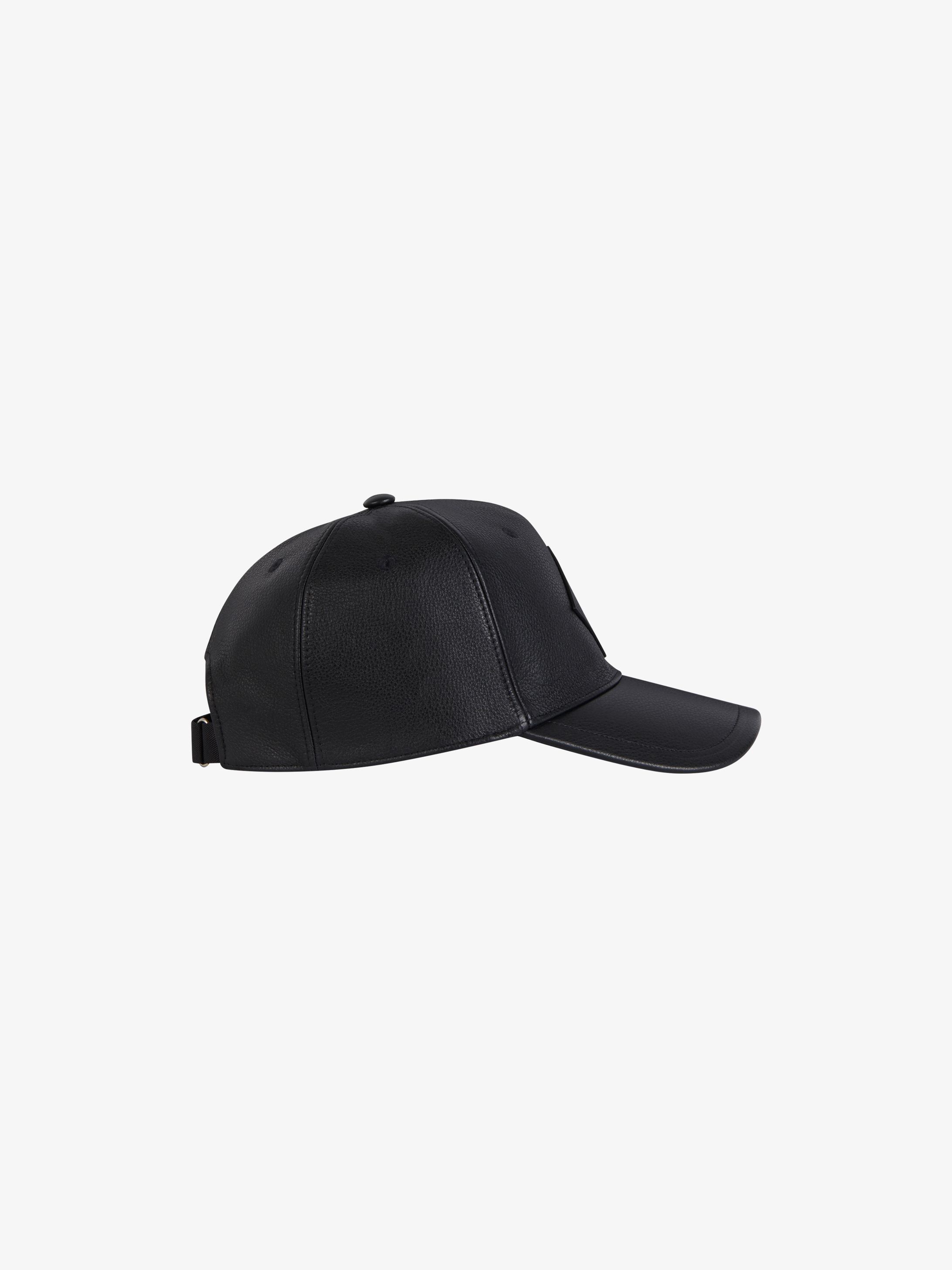 bbd4fa3478f GIVENCHY 4G patch cap in leather