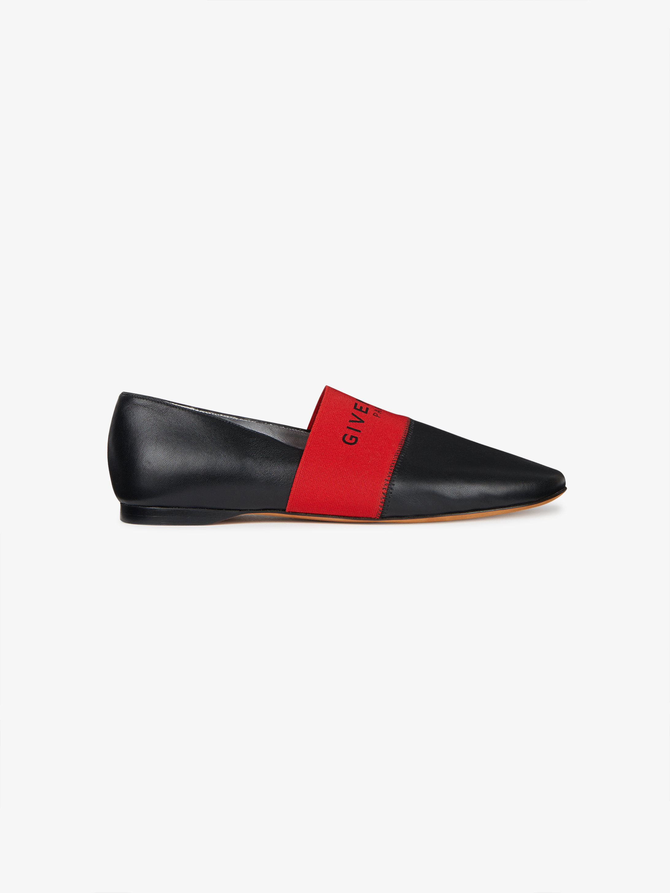 446c2b4b3235 GIVENCHY PARIS leather slippers