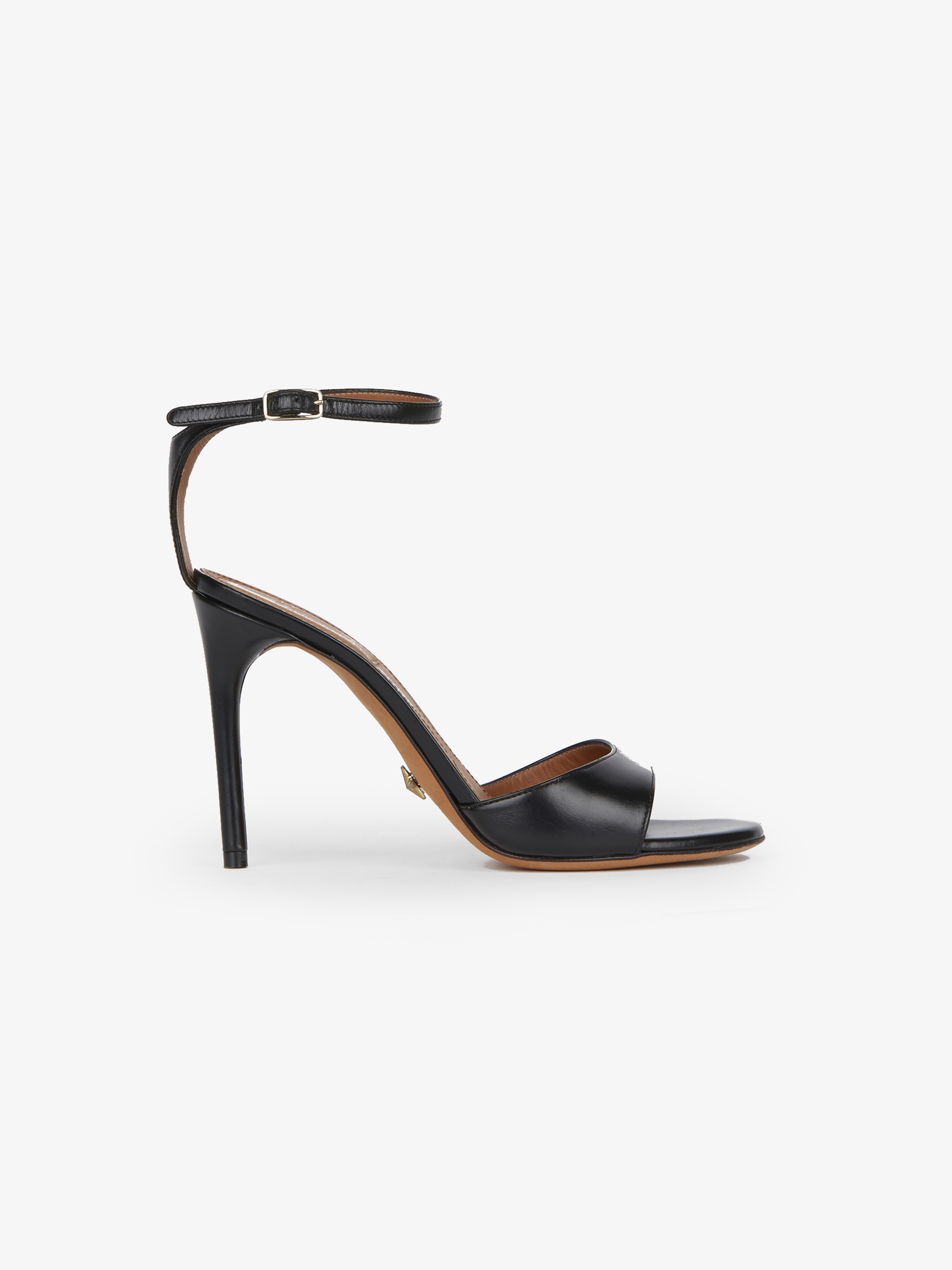 Classic sandals in smooth leather