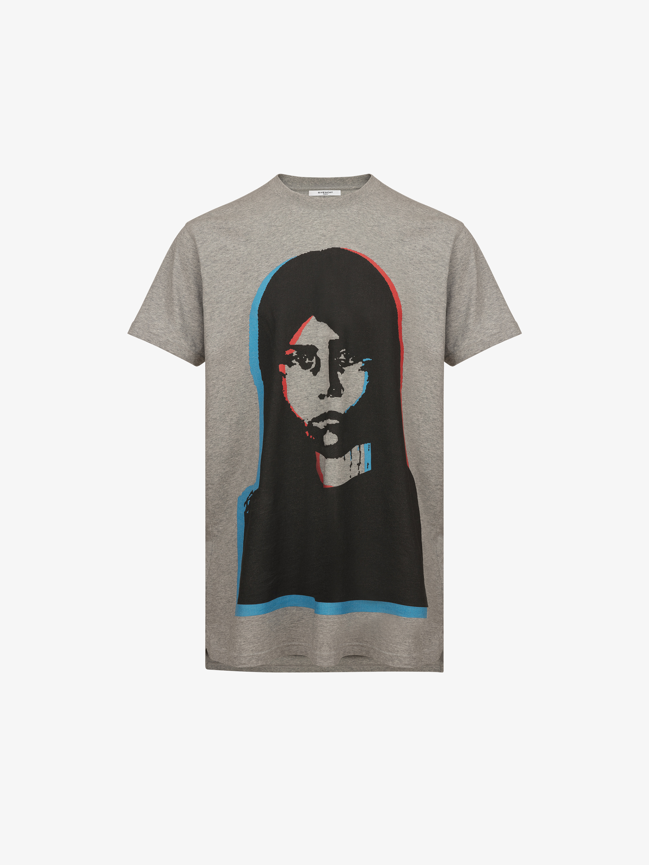 Abstract girl printed T-shirt