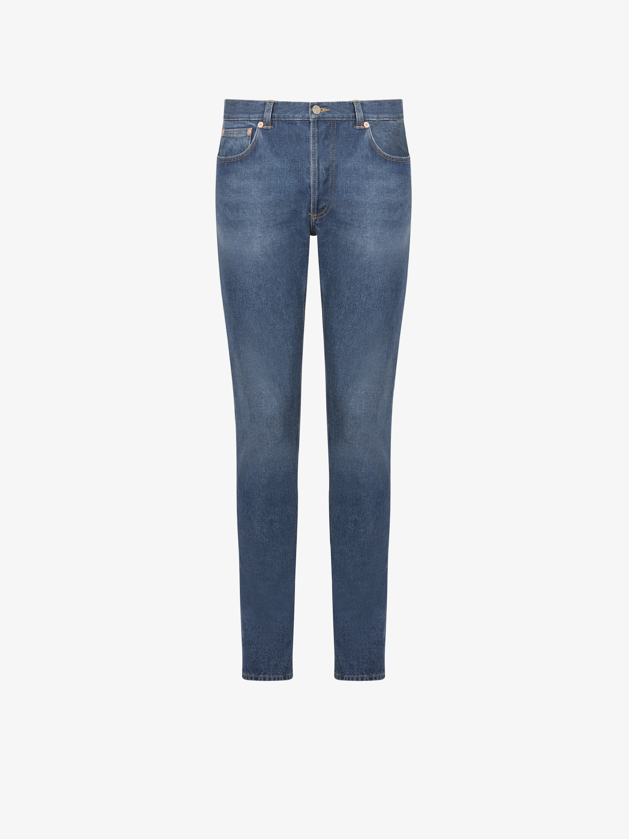 GIVENCHY PARIS stone washed jeans