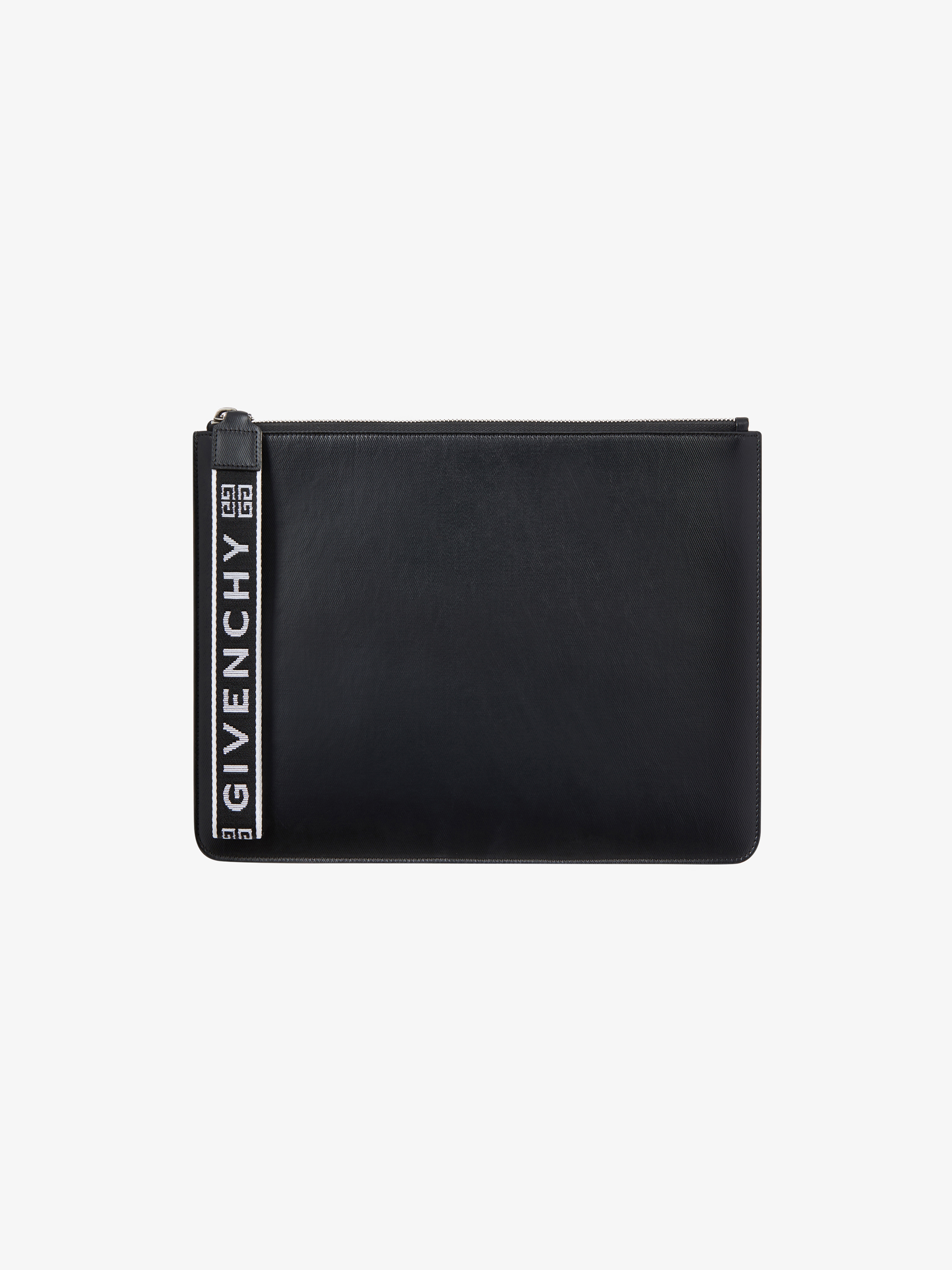 GIVENCHY 4G wrist strap large pouch