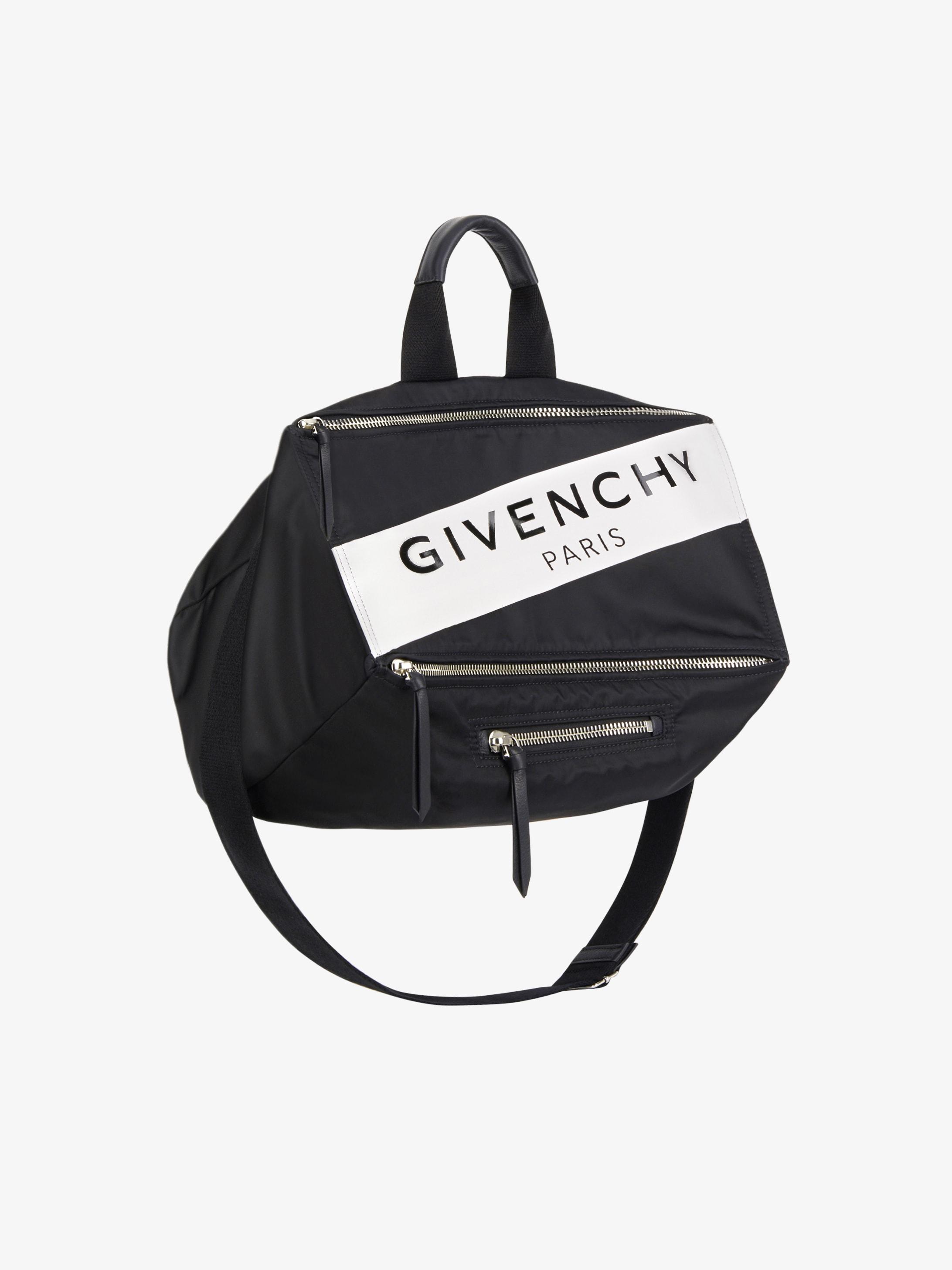 GIVENCHY PARIS Pandora messenger bag in nylon