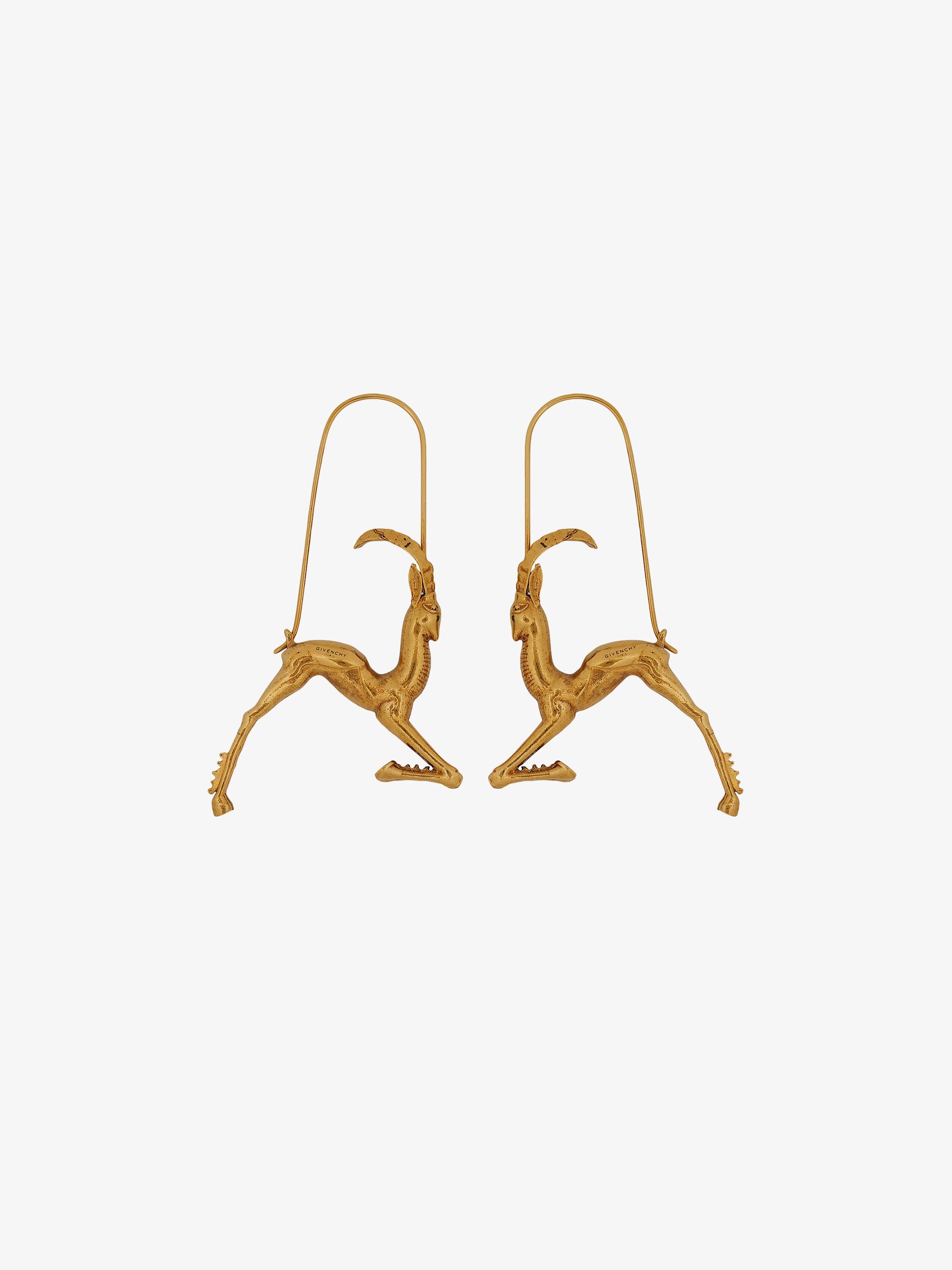 Boucles d'oreilles zodiaque Capricorne