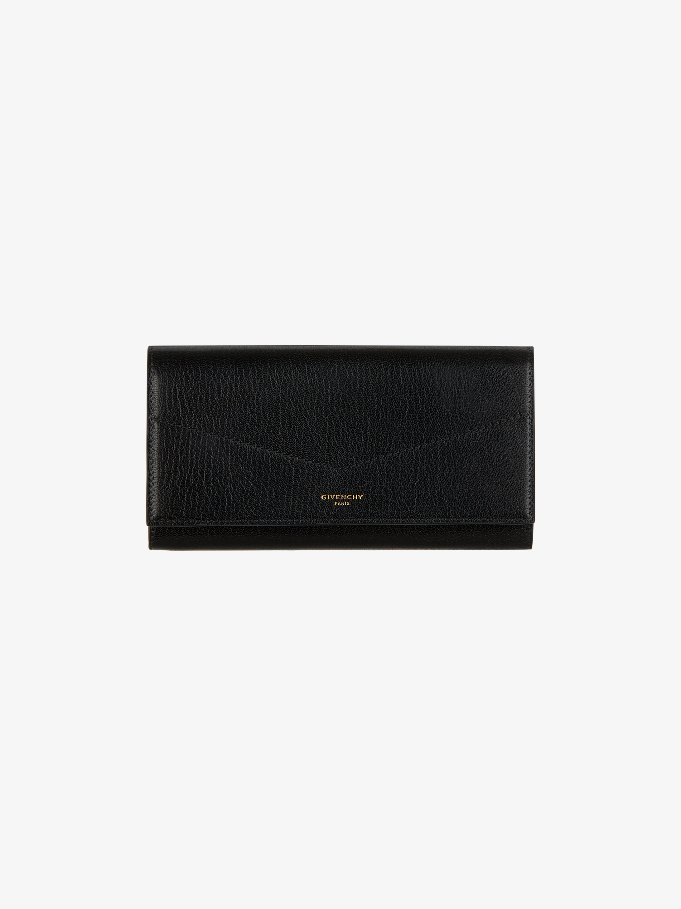 Long Edge wallet in leather