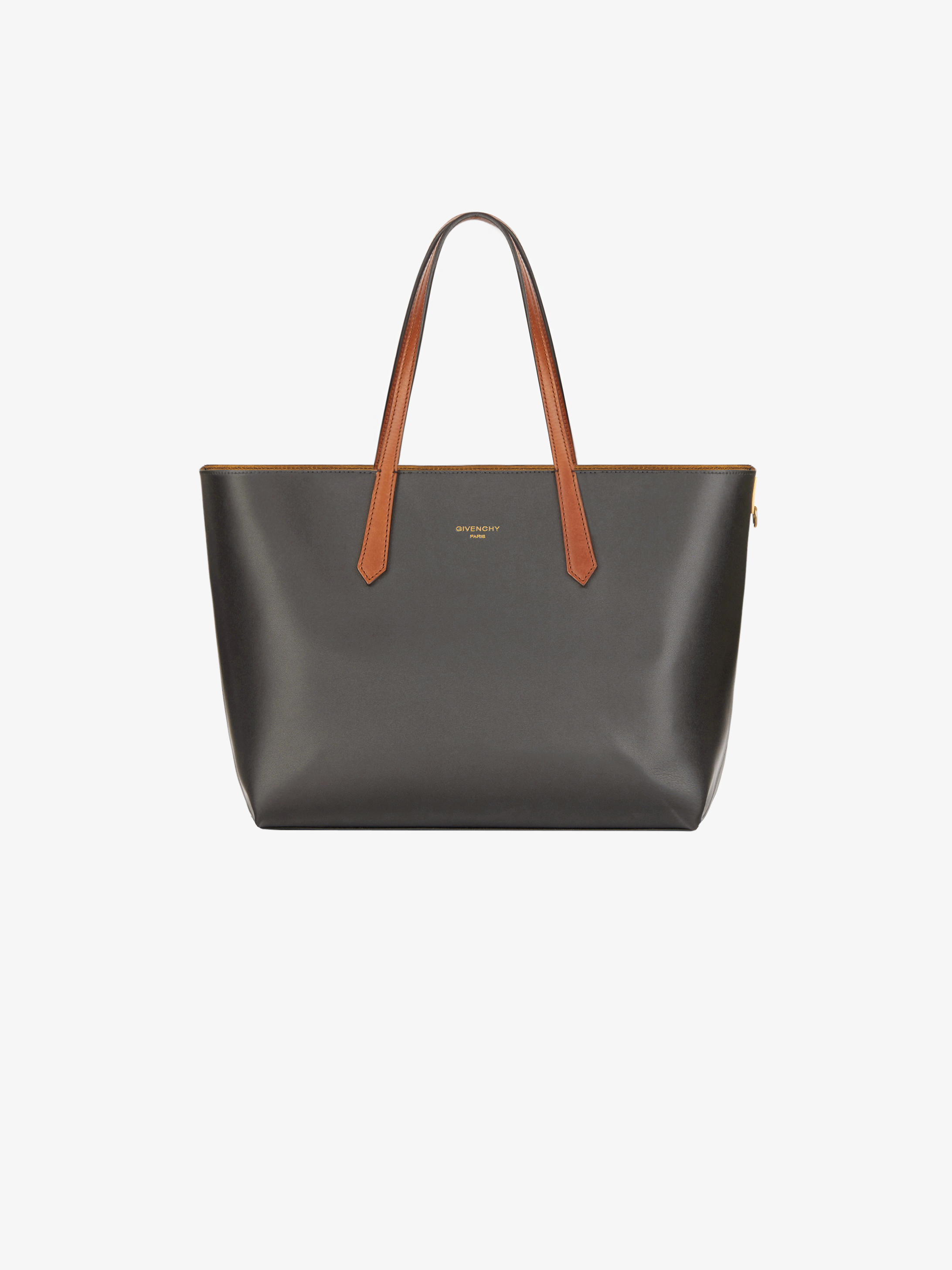 ded4bfe3f9ff Tote bag in smooth leather