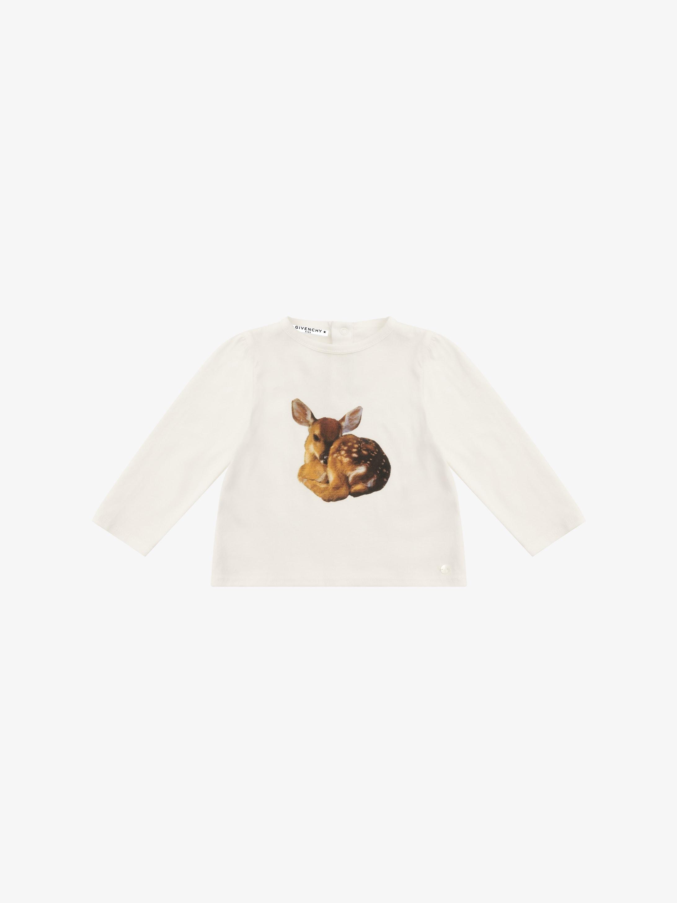 T-shirt imprimé Faon