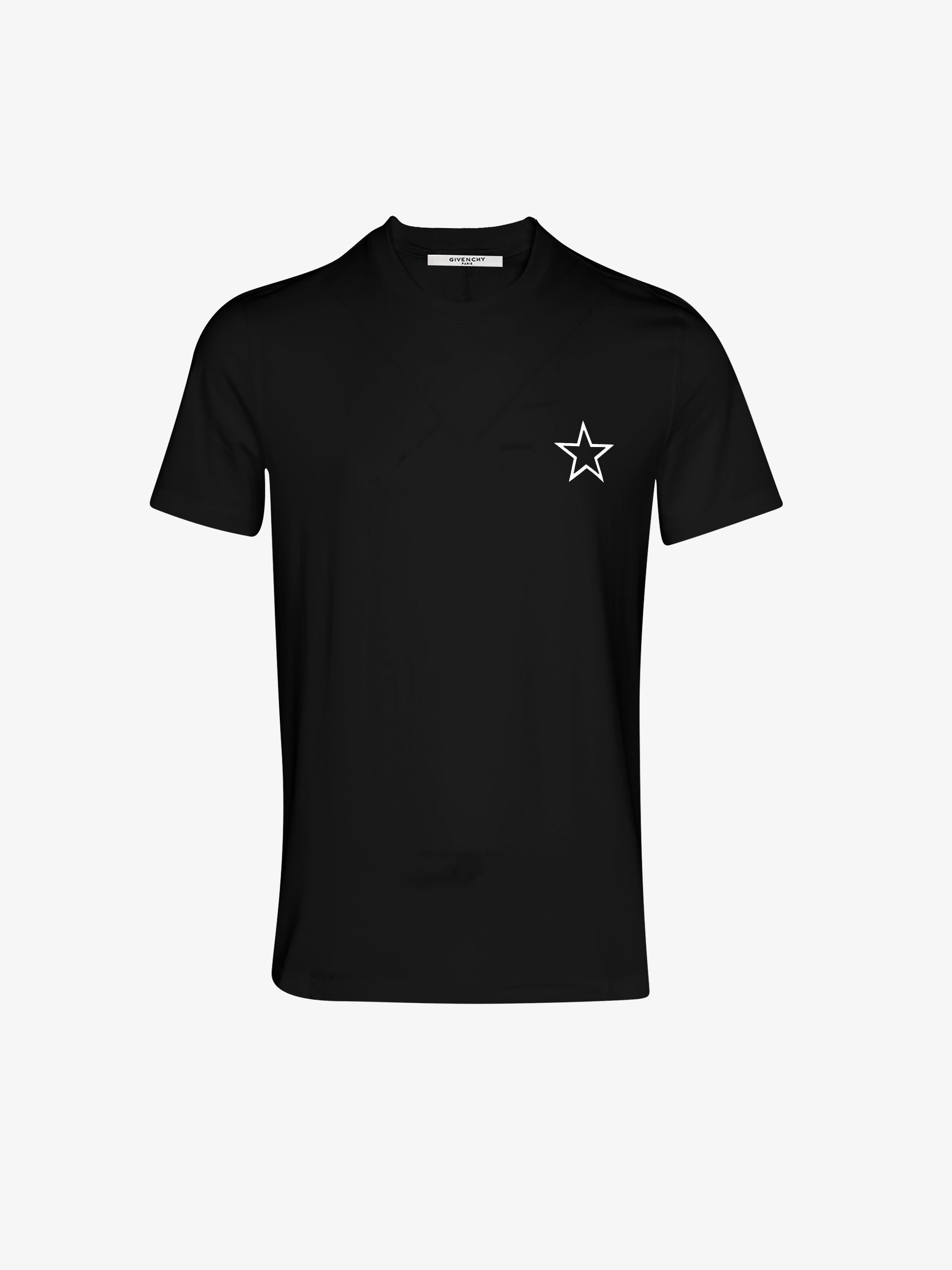 五角星印花T恤