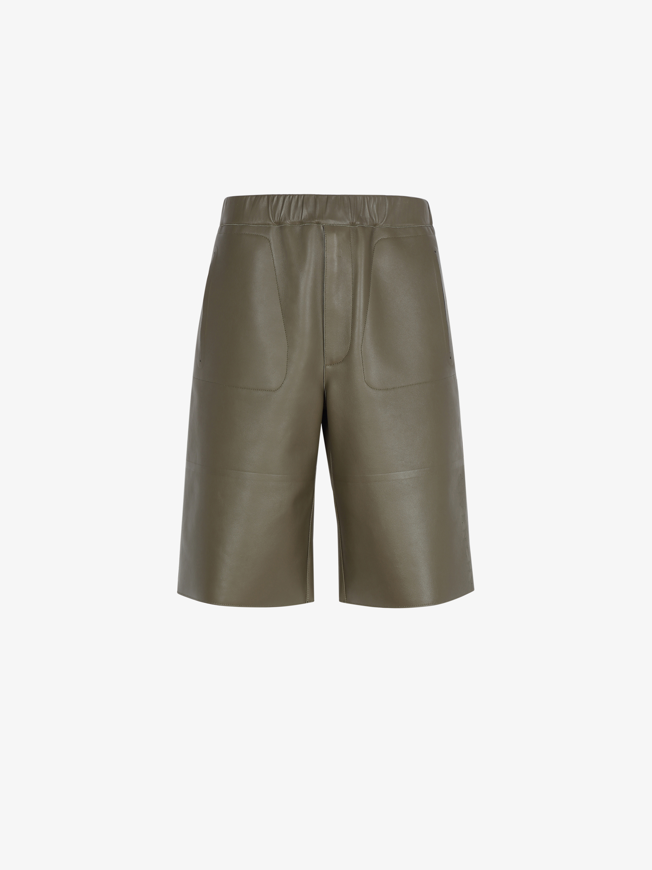 GIVENCHY short pants in leather
