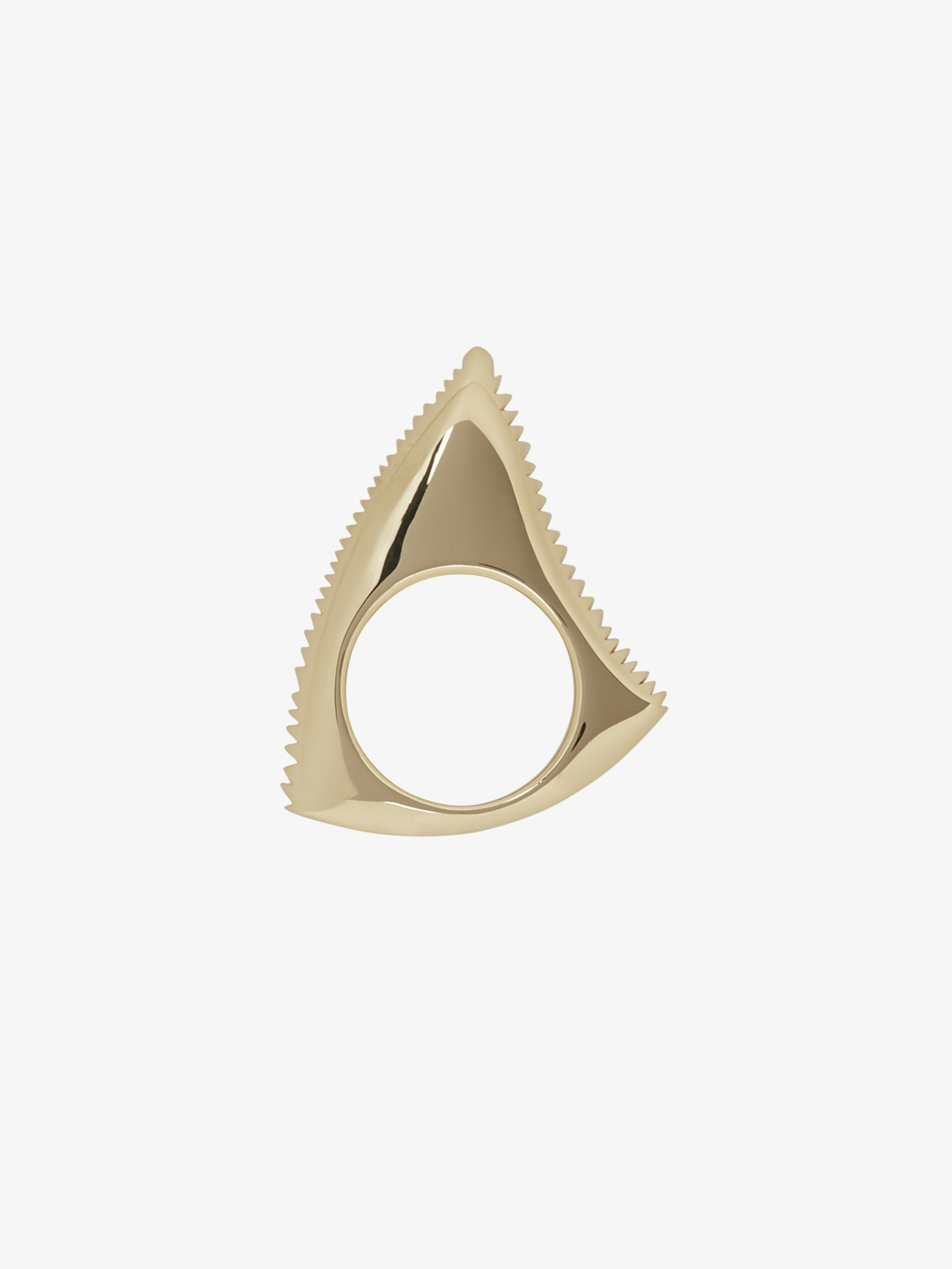 Anello Shark Tooth