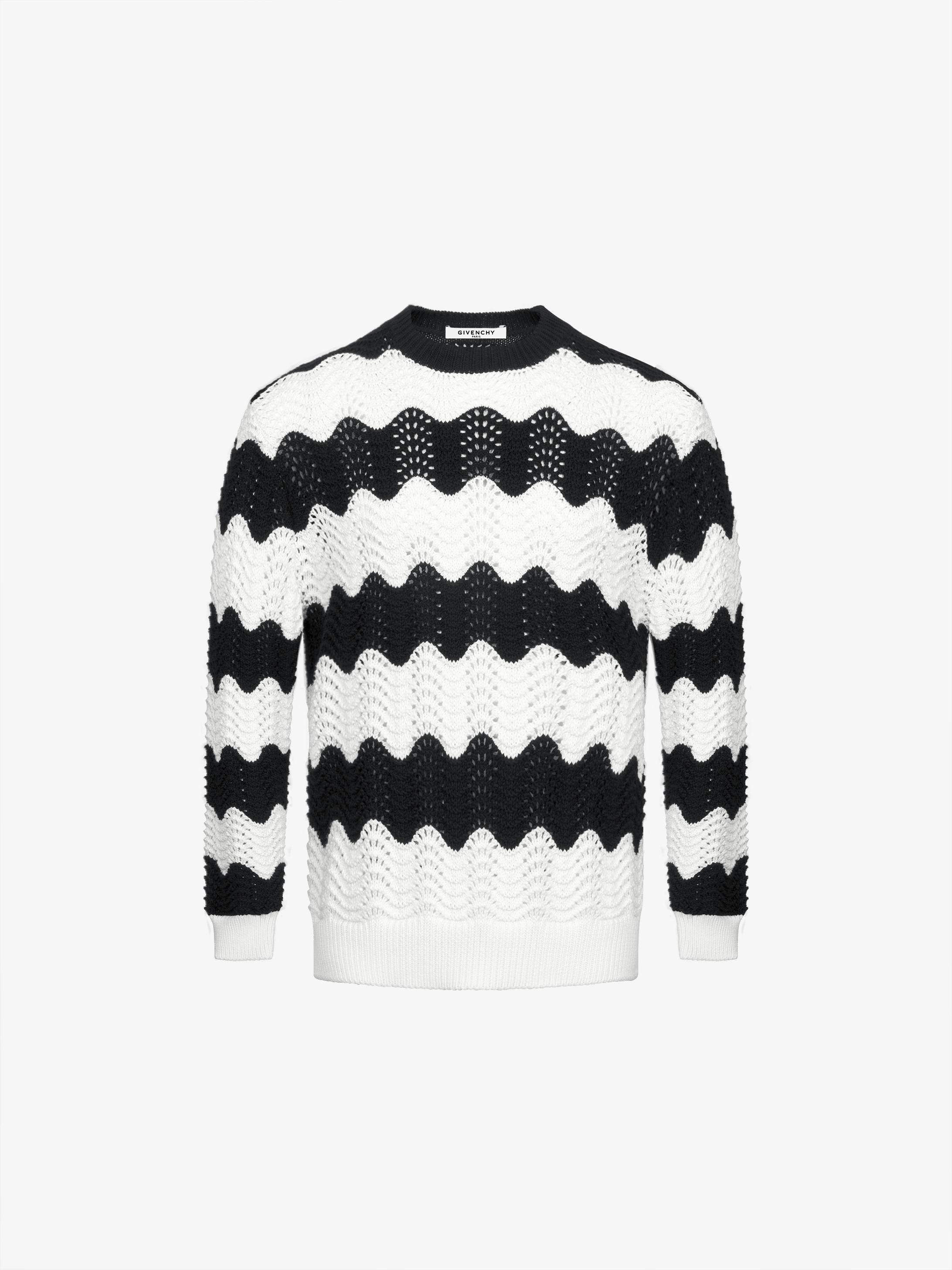 Stripped two-tone jumper
