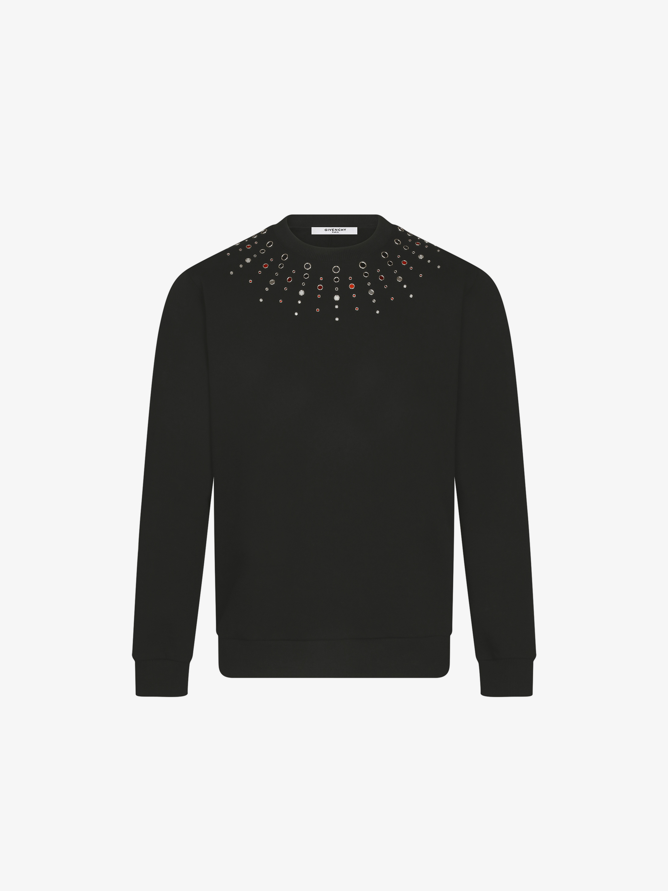 Embroidered mirrors sweatshirt