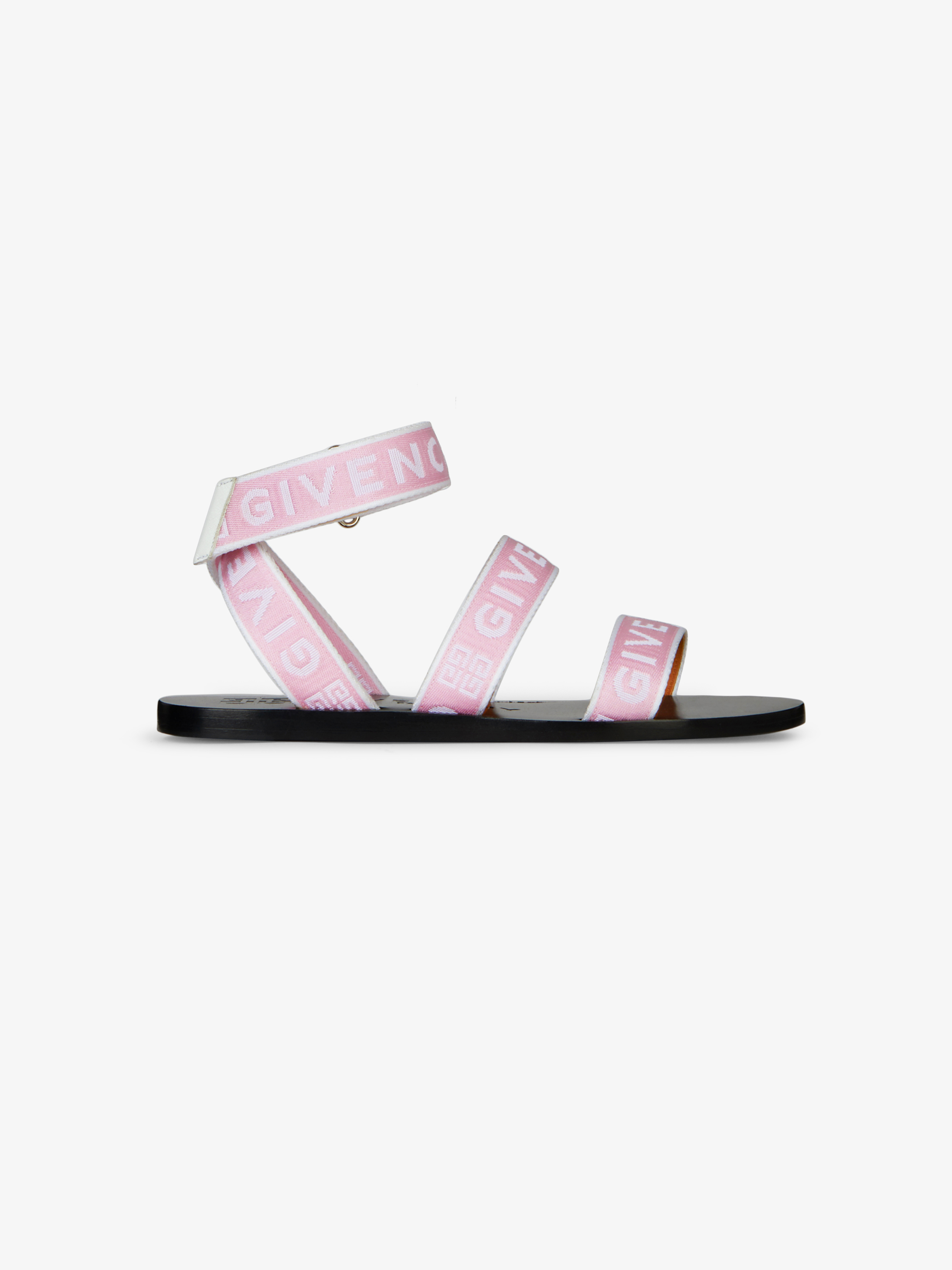 GIVENCHY 4G webbing sandals