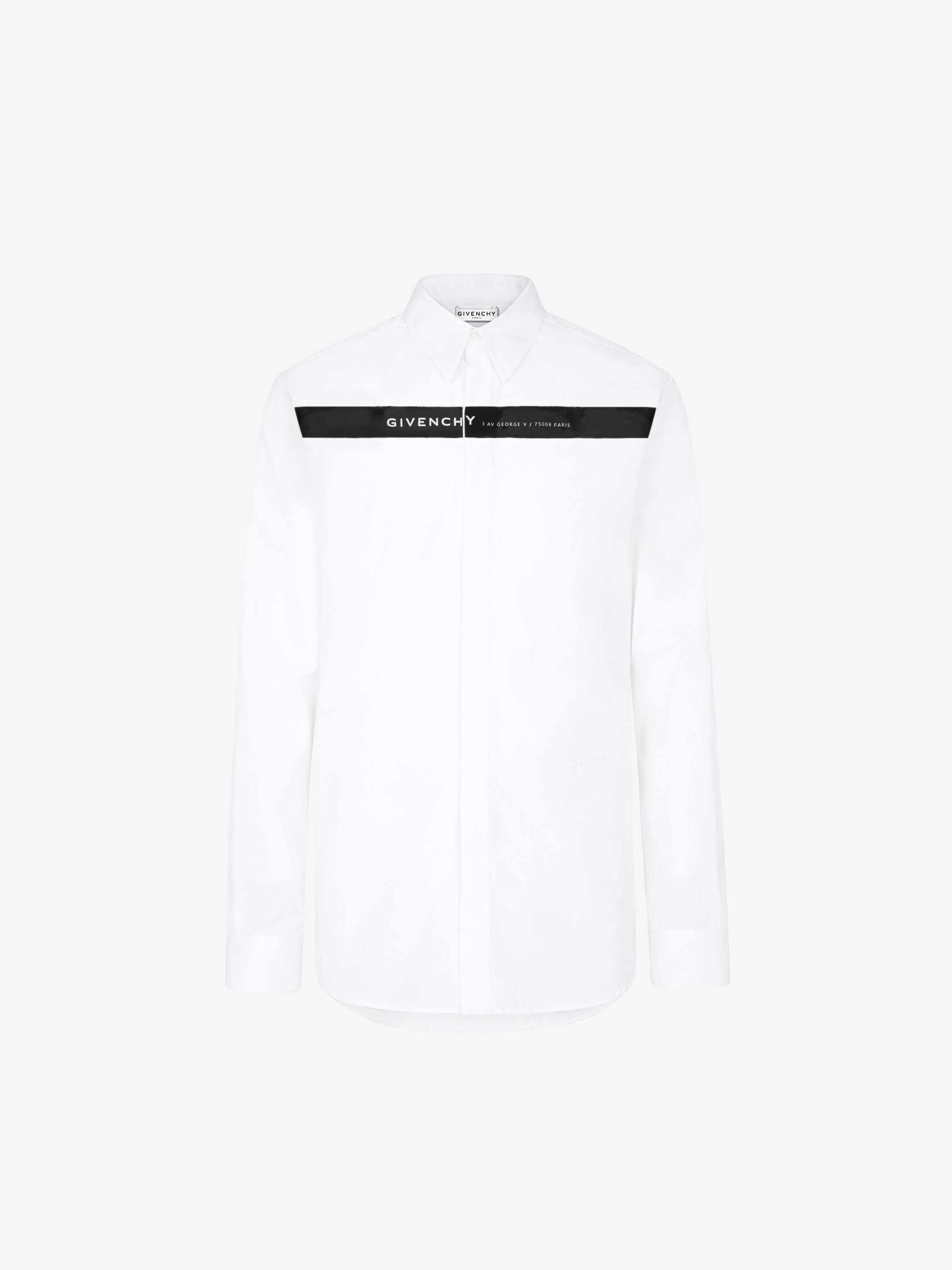 GIVENCHY shirt with band