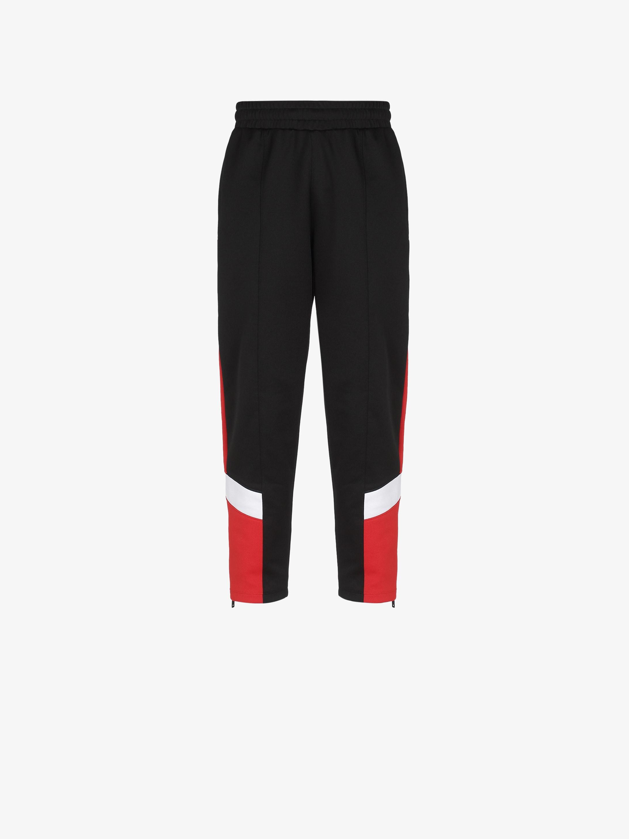 GIVENCHY contrasting jogger pants
