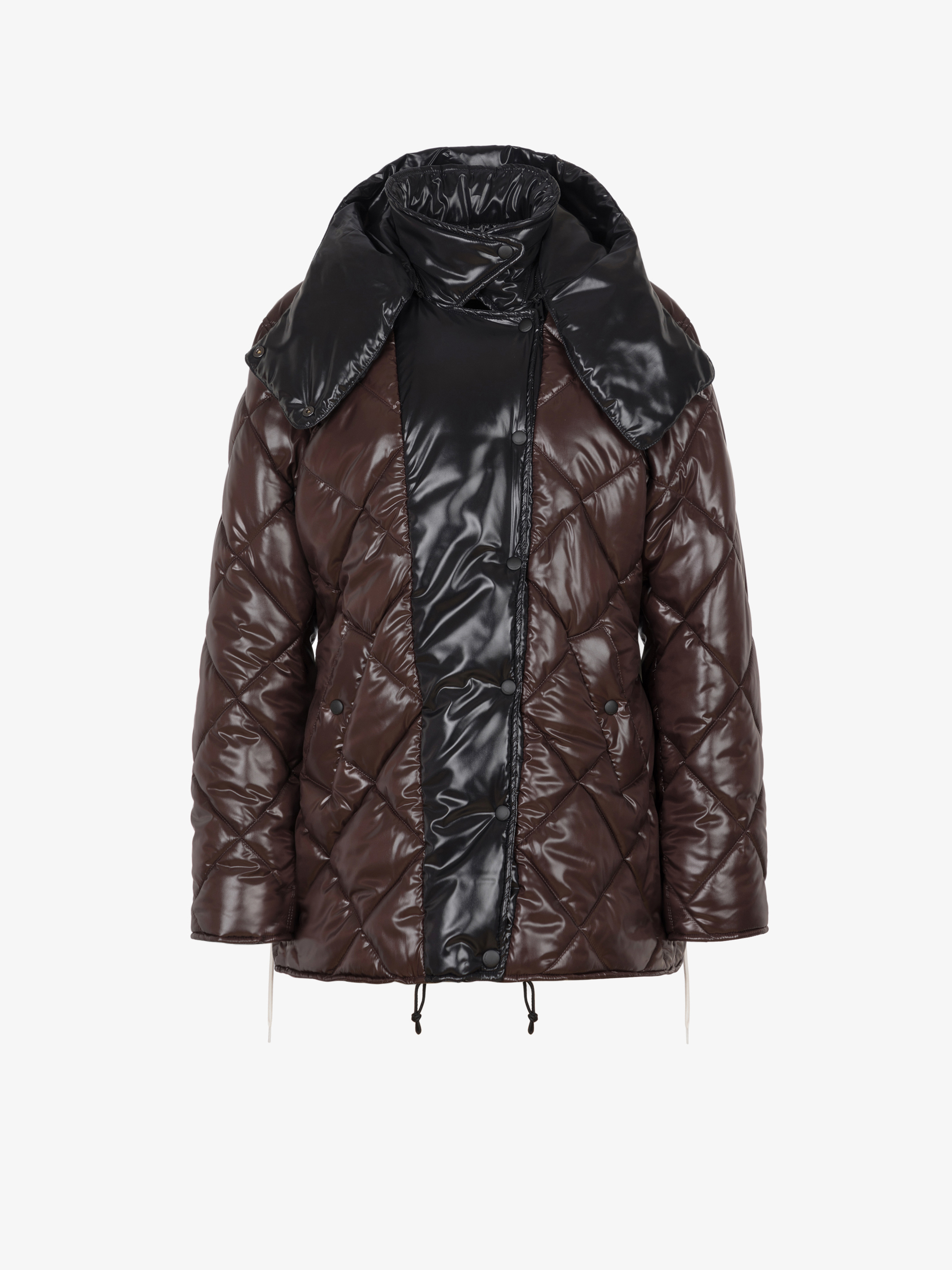GIVENCHY puffa jacket with removable hood