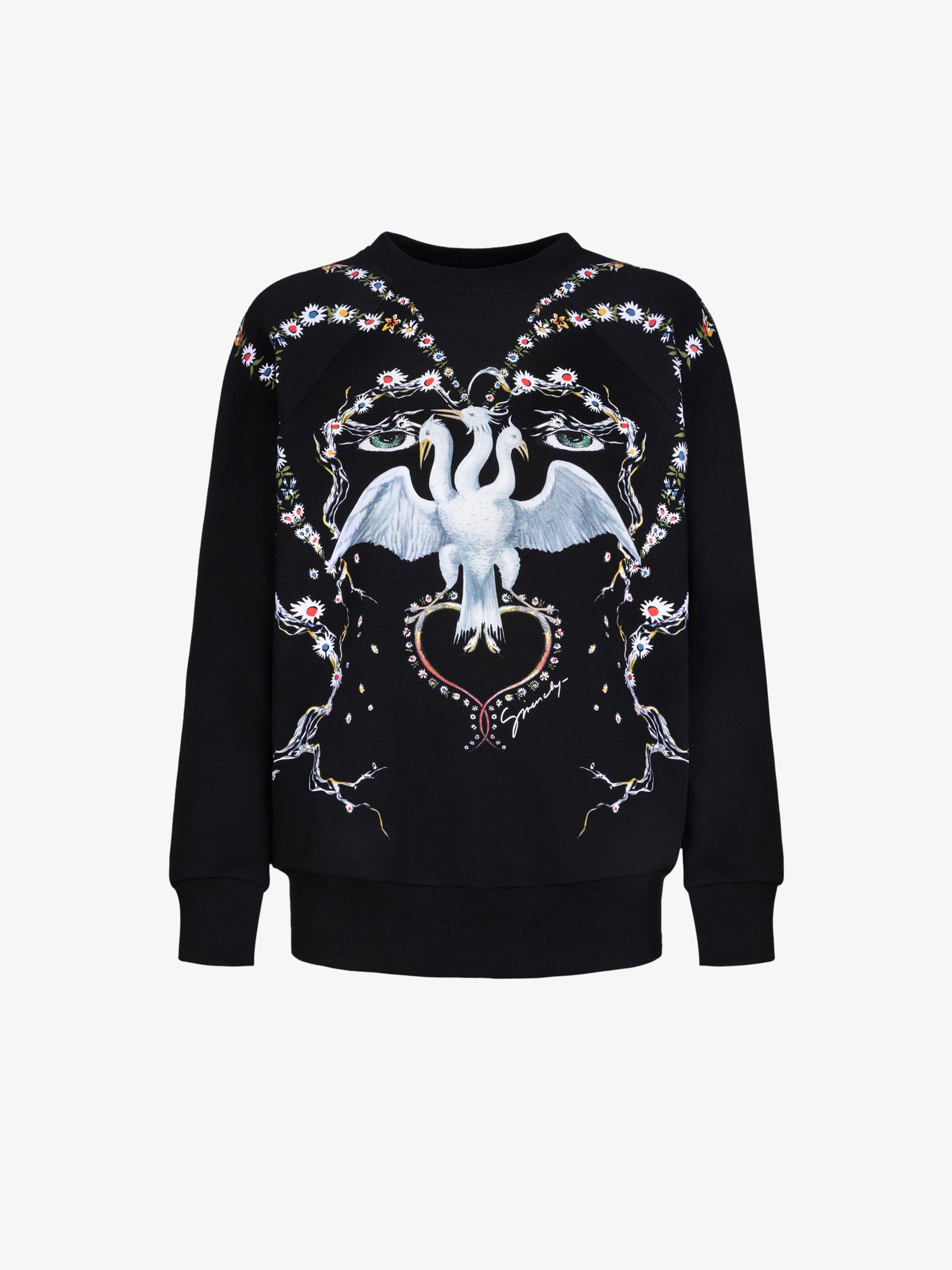 GIVENCHY bird printed sweatshirt