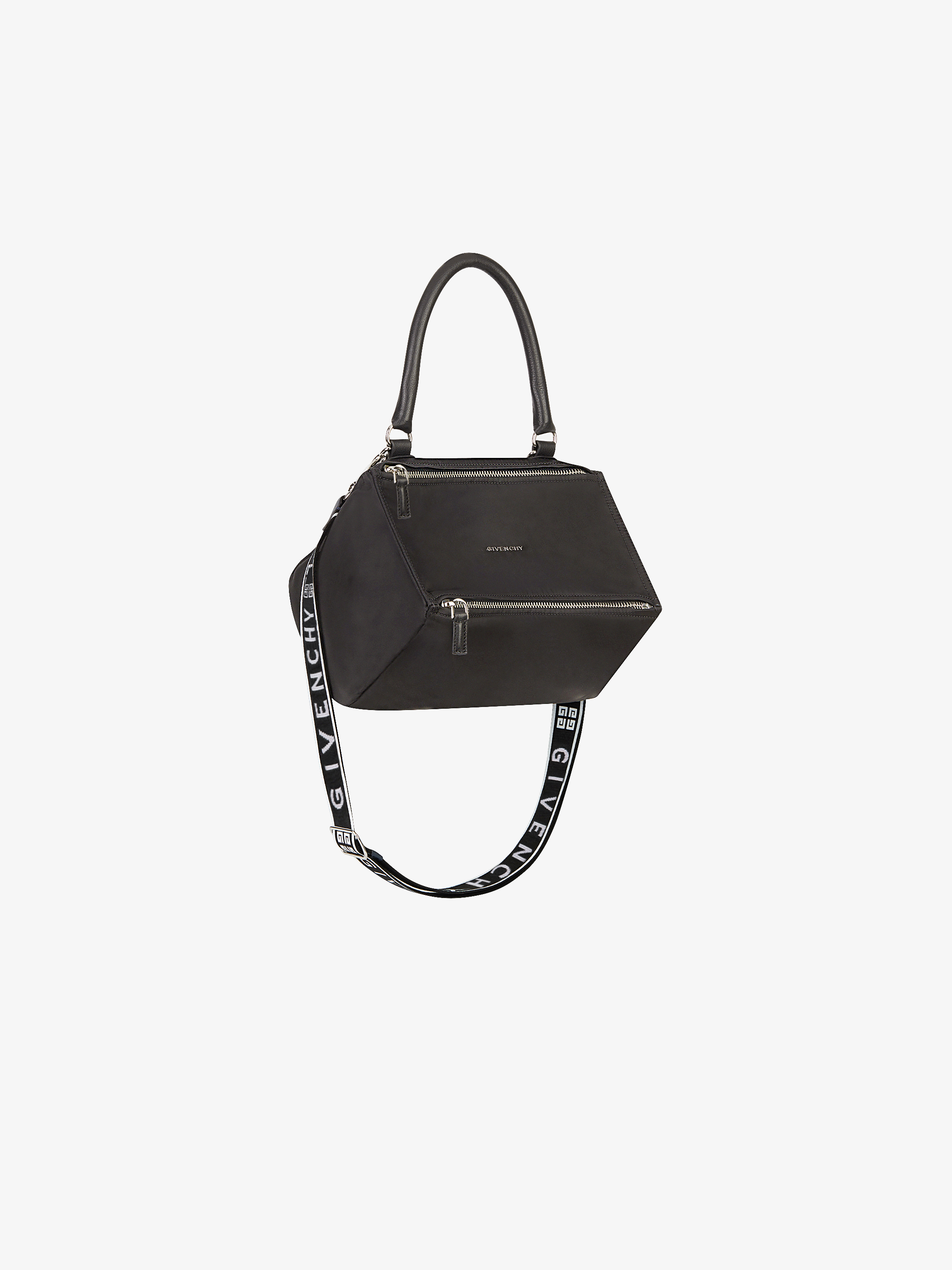 Givenchy 4g Small Pandora Bag In Nylon