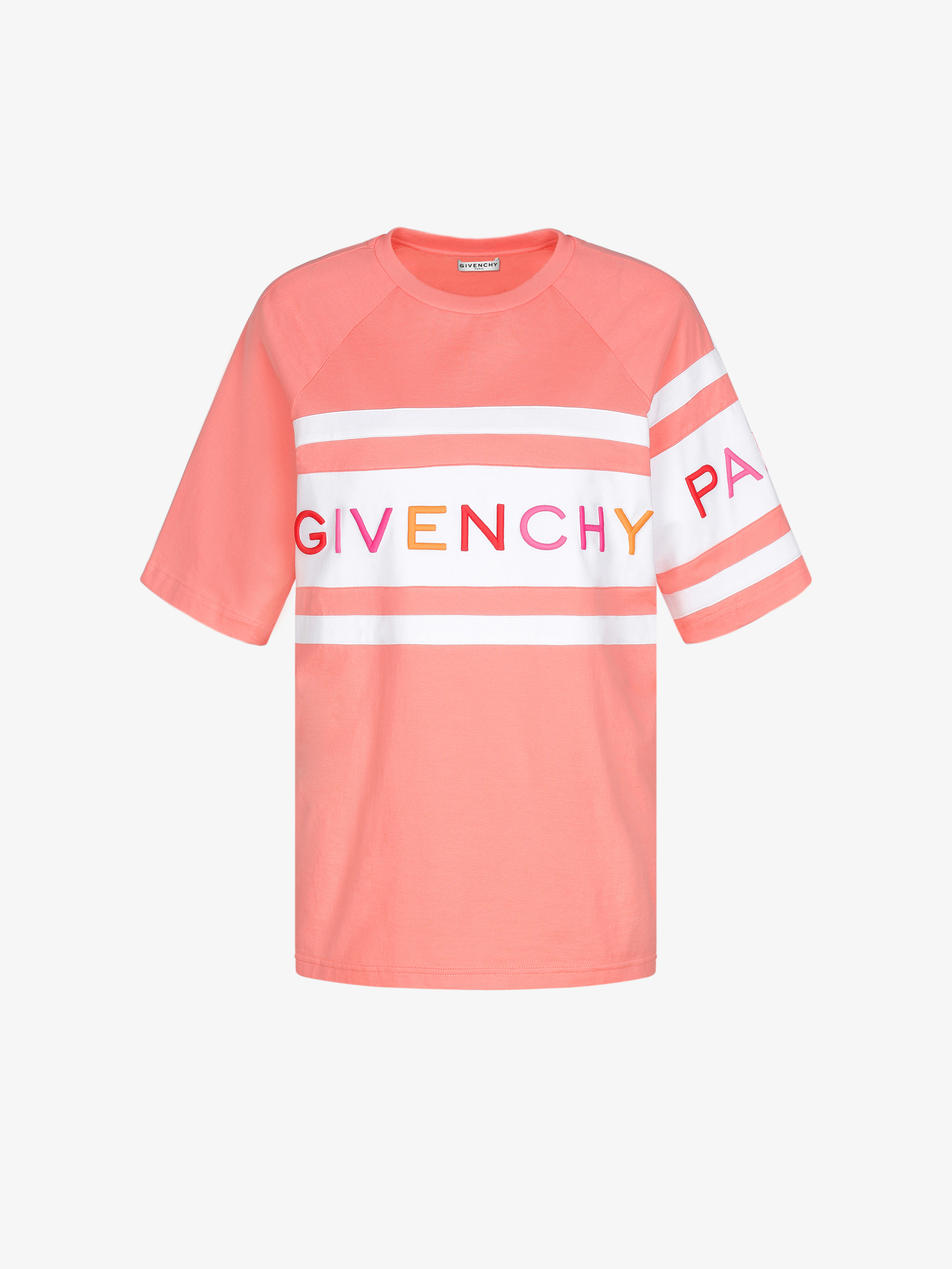 GIVENCHY 4G embroidered oversized T-shirt