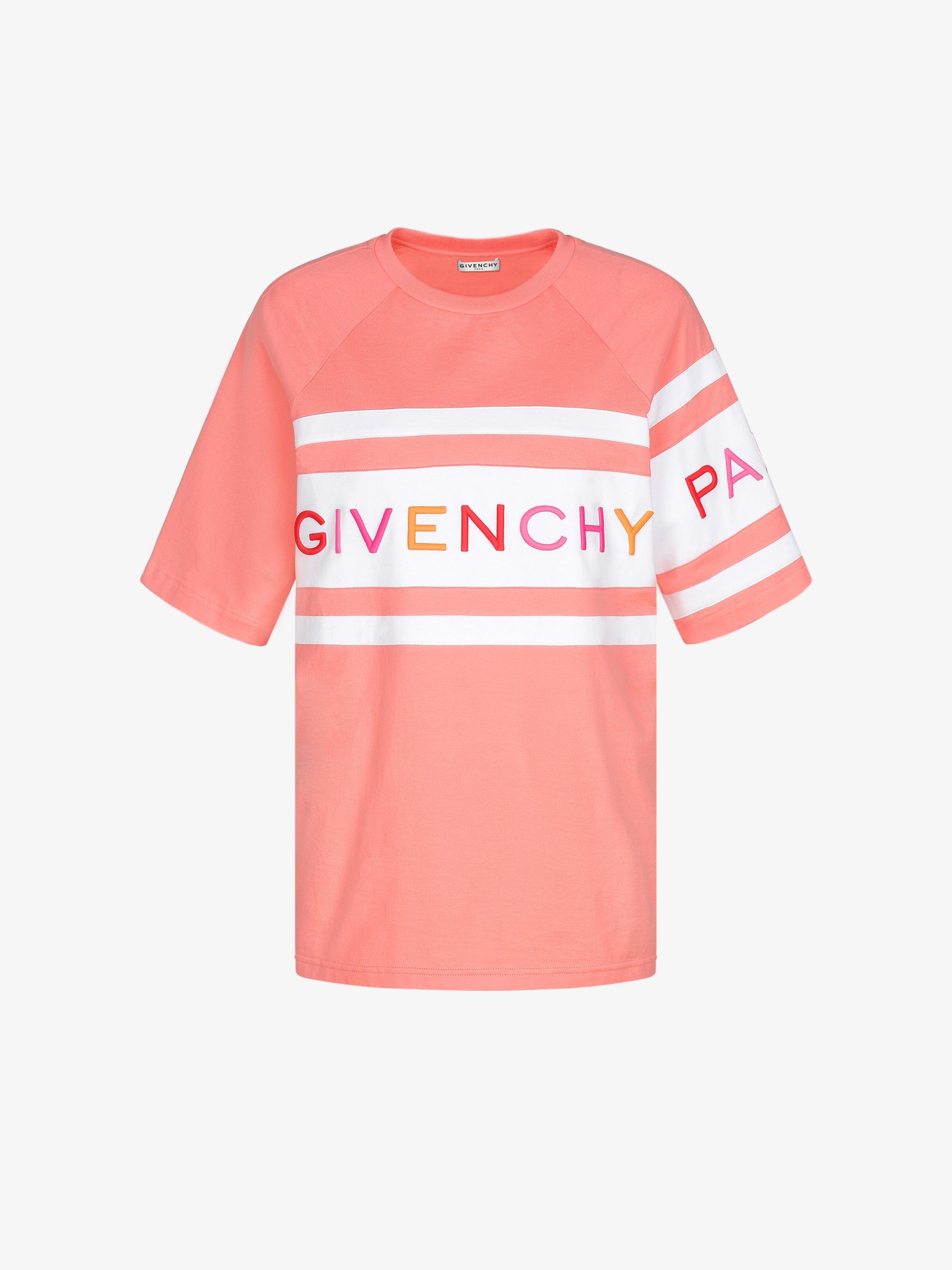 T-shirt oversize con ricamo GIVENCHY 4G