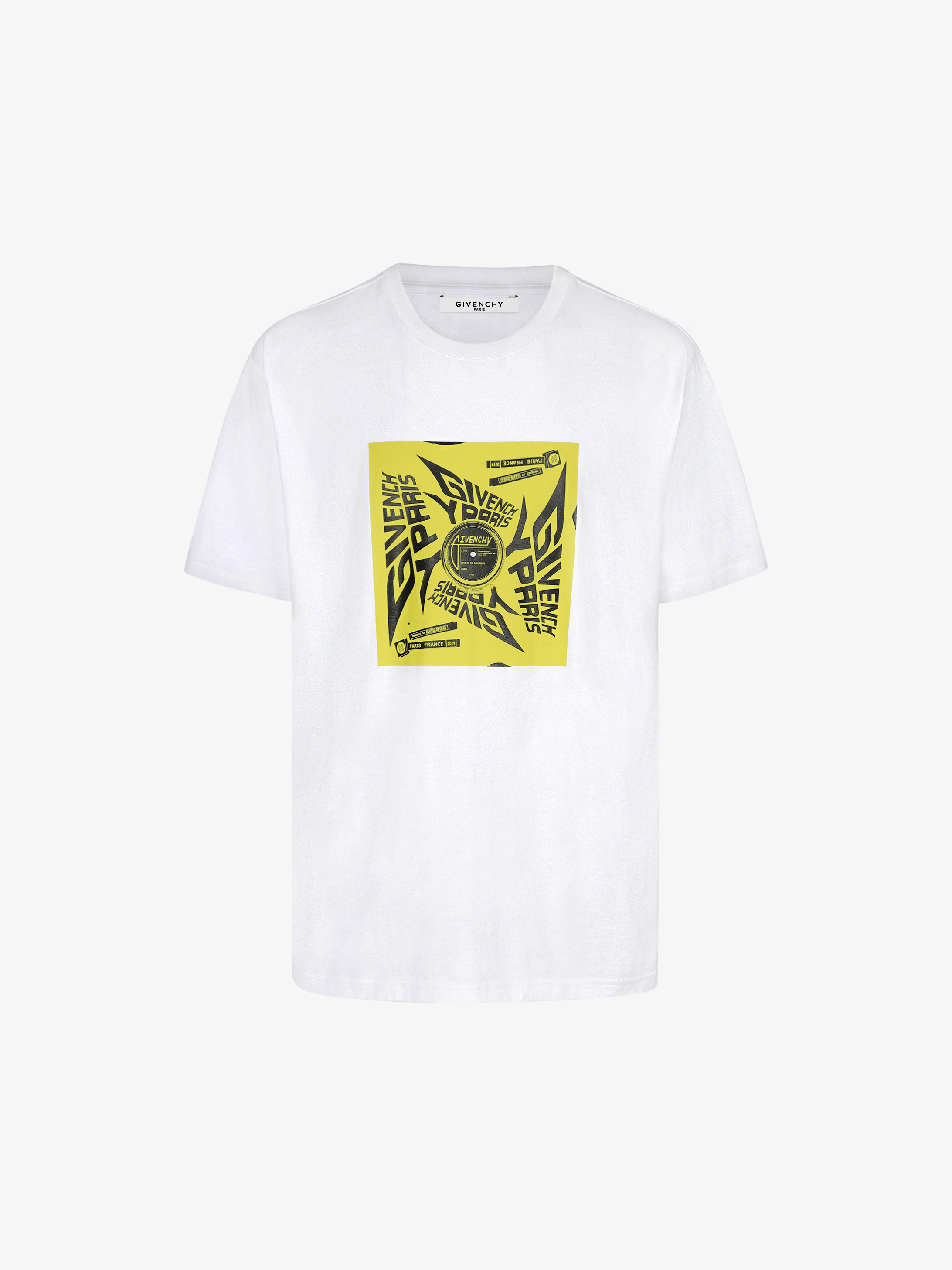 GIVENCHY PARIS sun printed T-shirt