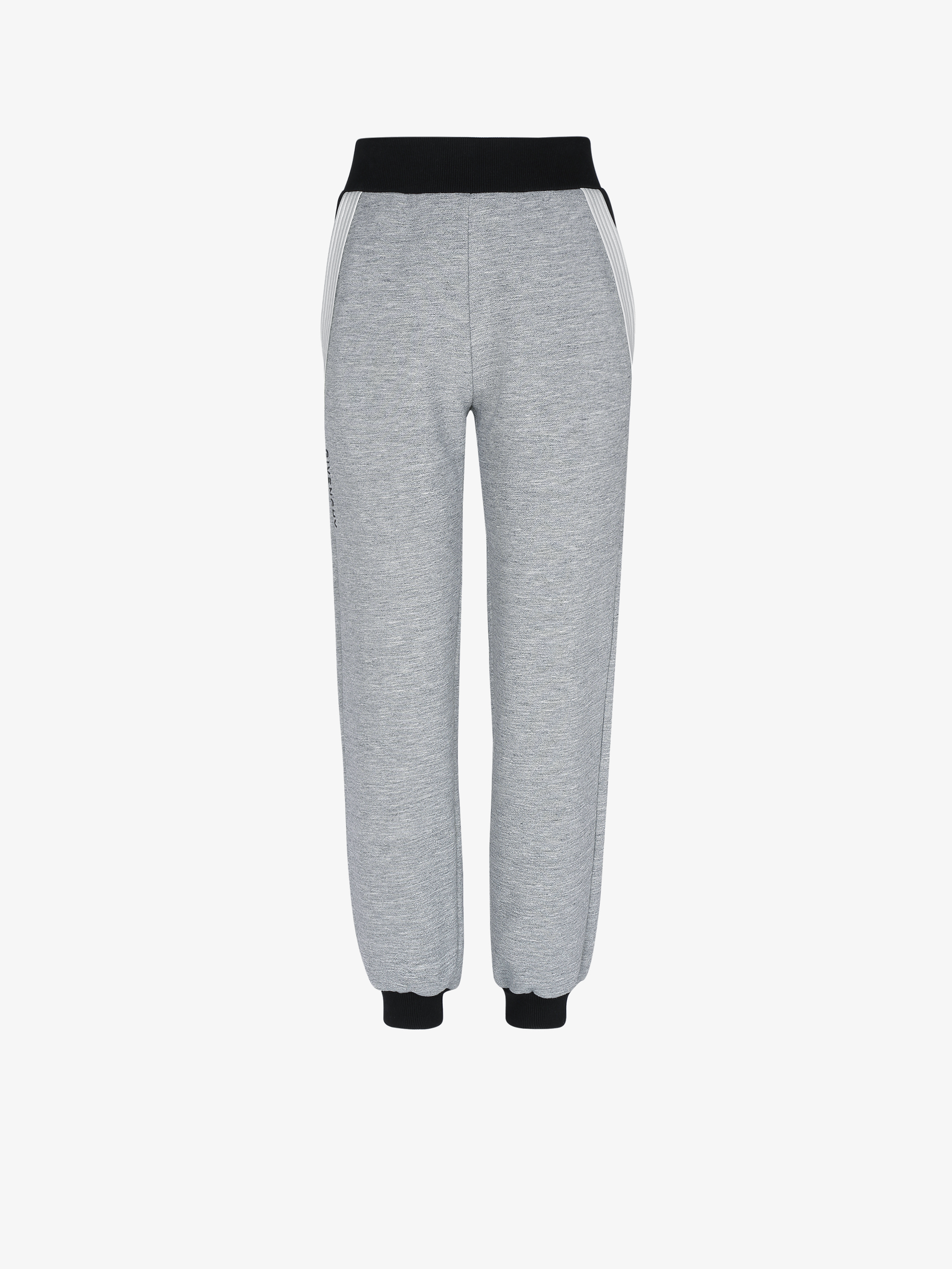 GIVENCHY jogger pants with contrasting details