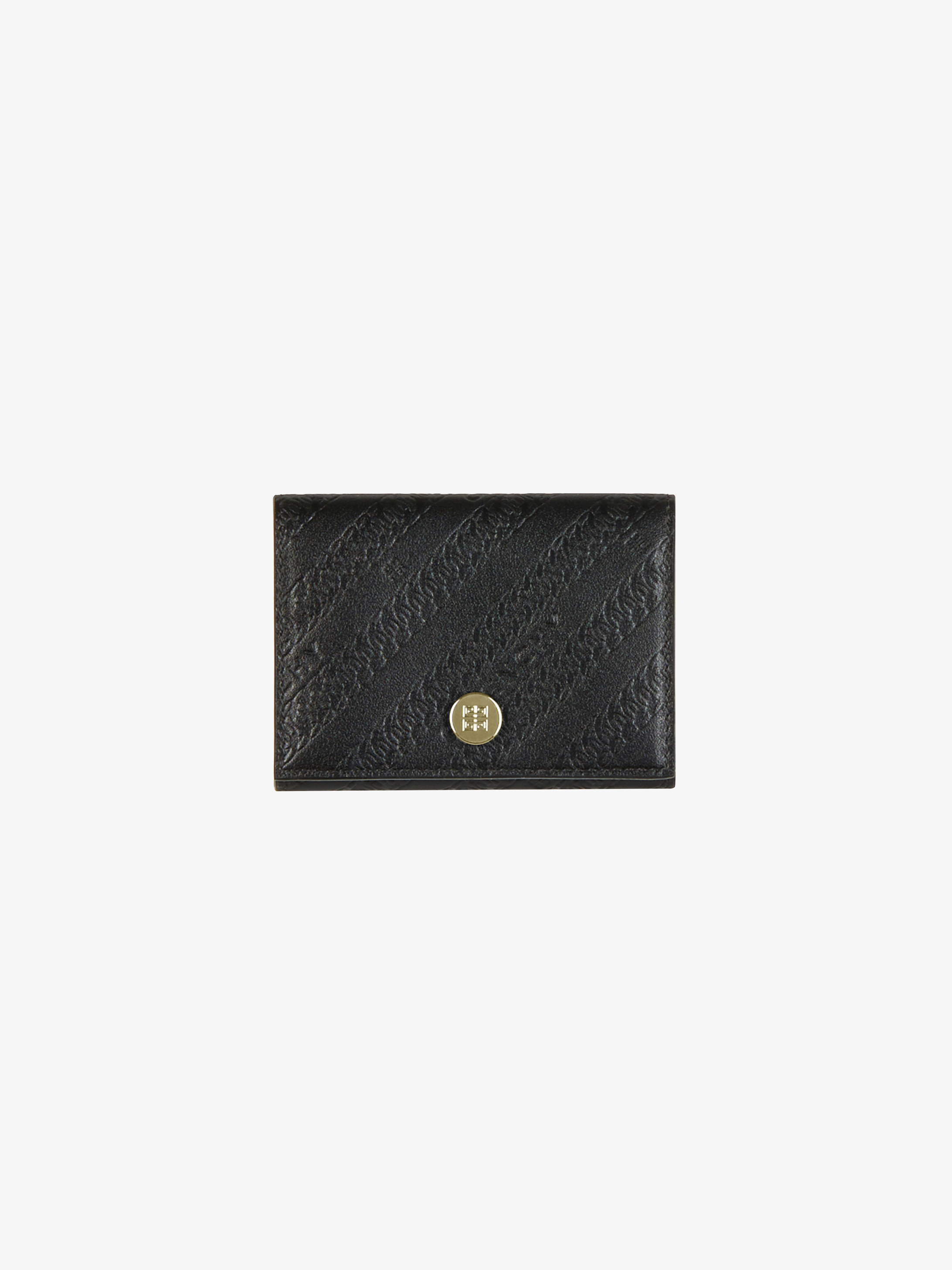 Bond wallet in GIVENCHY chain leather