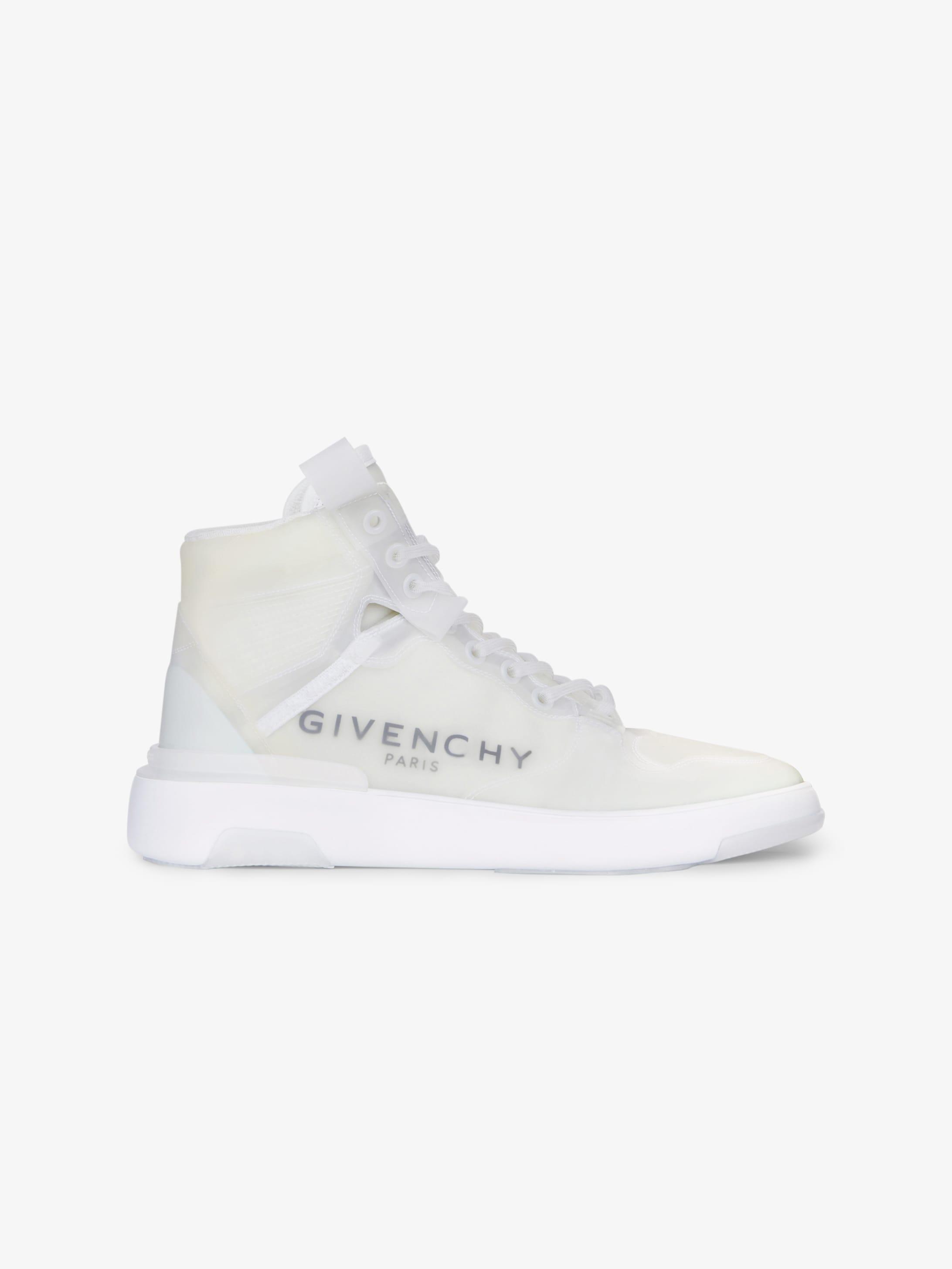 Sneakers montantes Wing transparentes | GIVENCHY Paris