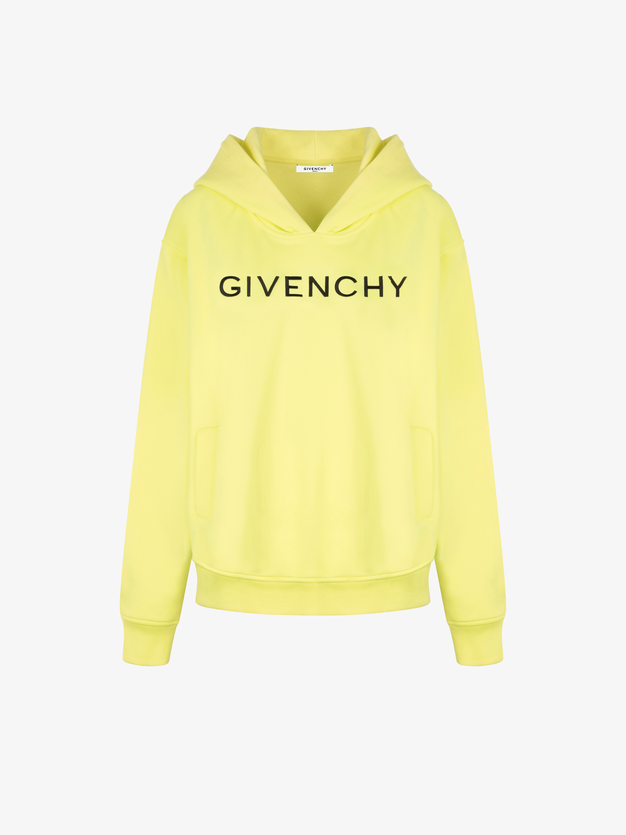 GIVENCHY embroidered oversized hoodie