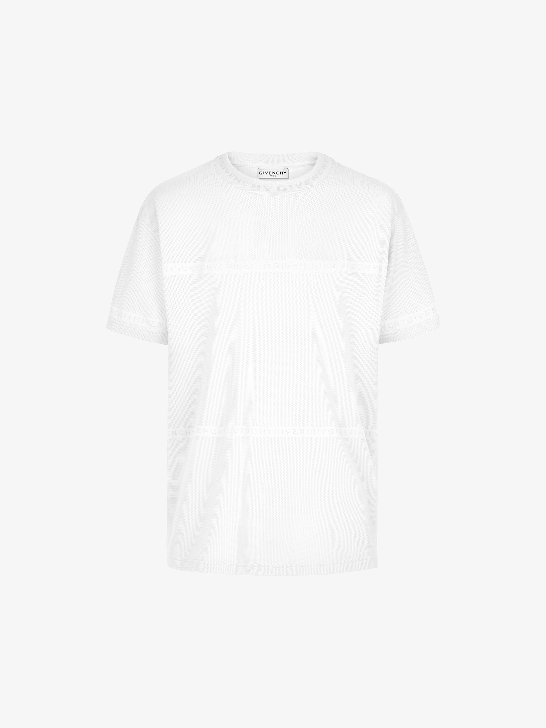 GIVENCHY ADDRESS band t-shirt