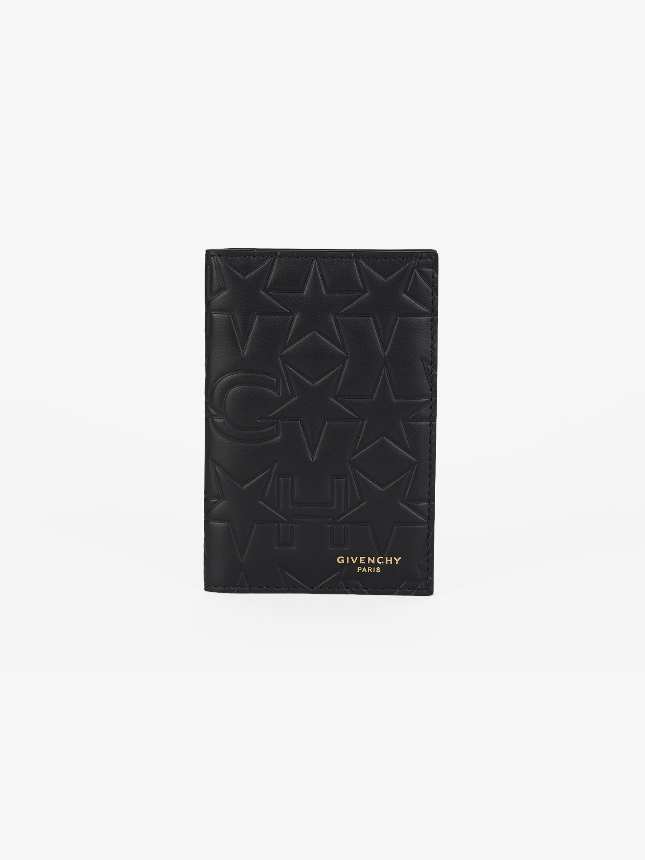 GIVENCHY & Stars embossed leather wallet